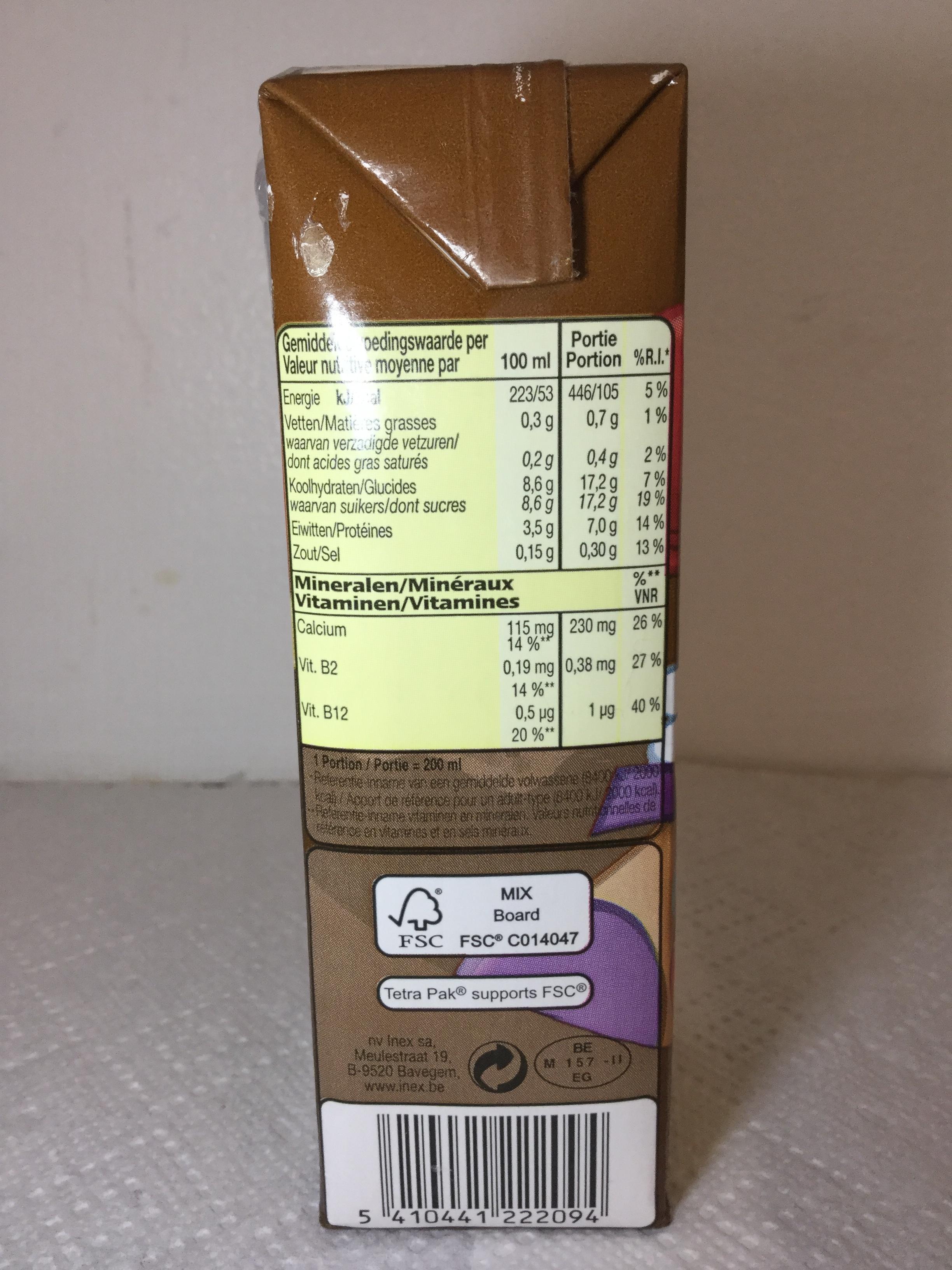 Inex Choco Melk Side 1