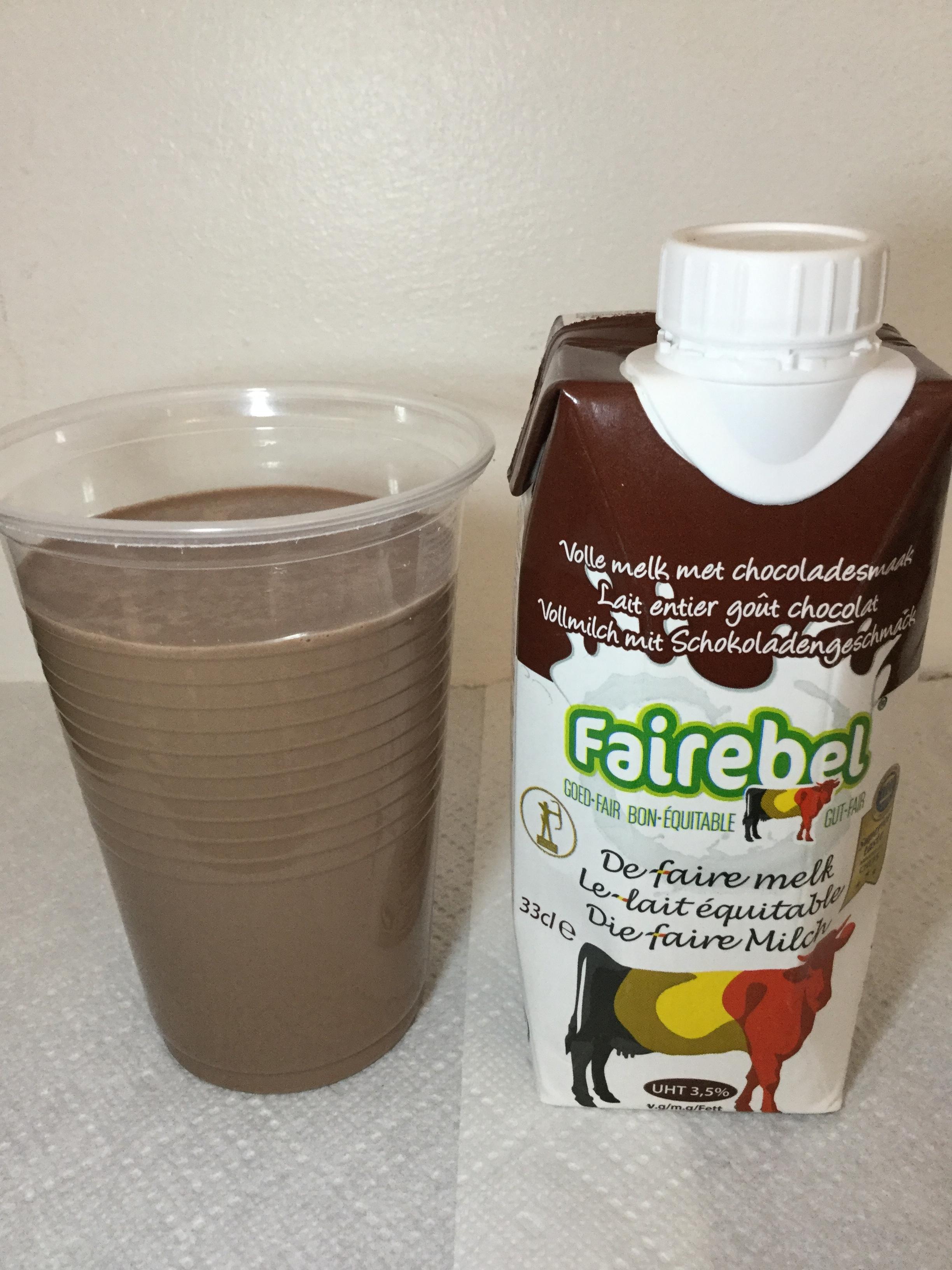 Fairebel Volle Melk Met Chocoladesmaak Cup