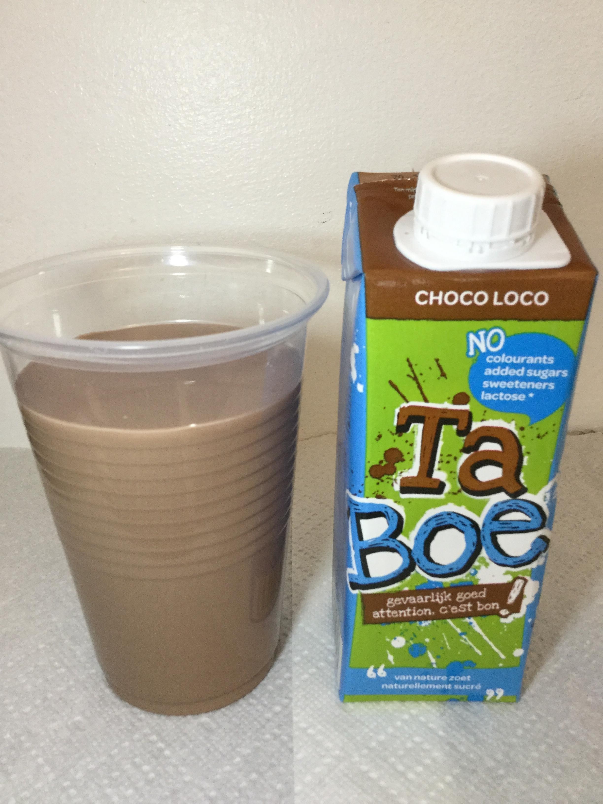 Inex Ta Boe Choco Loco Cup