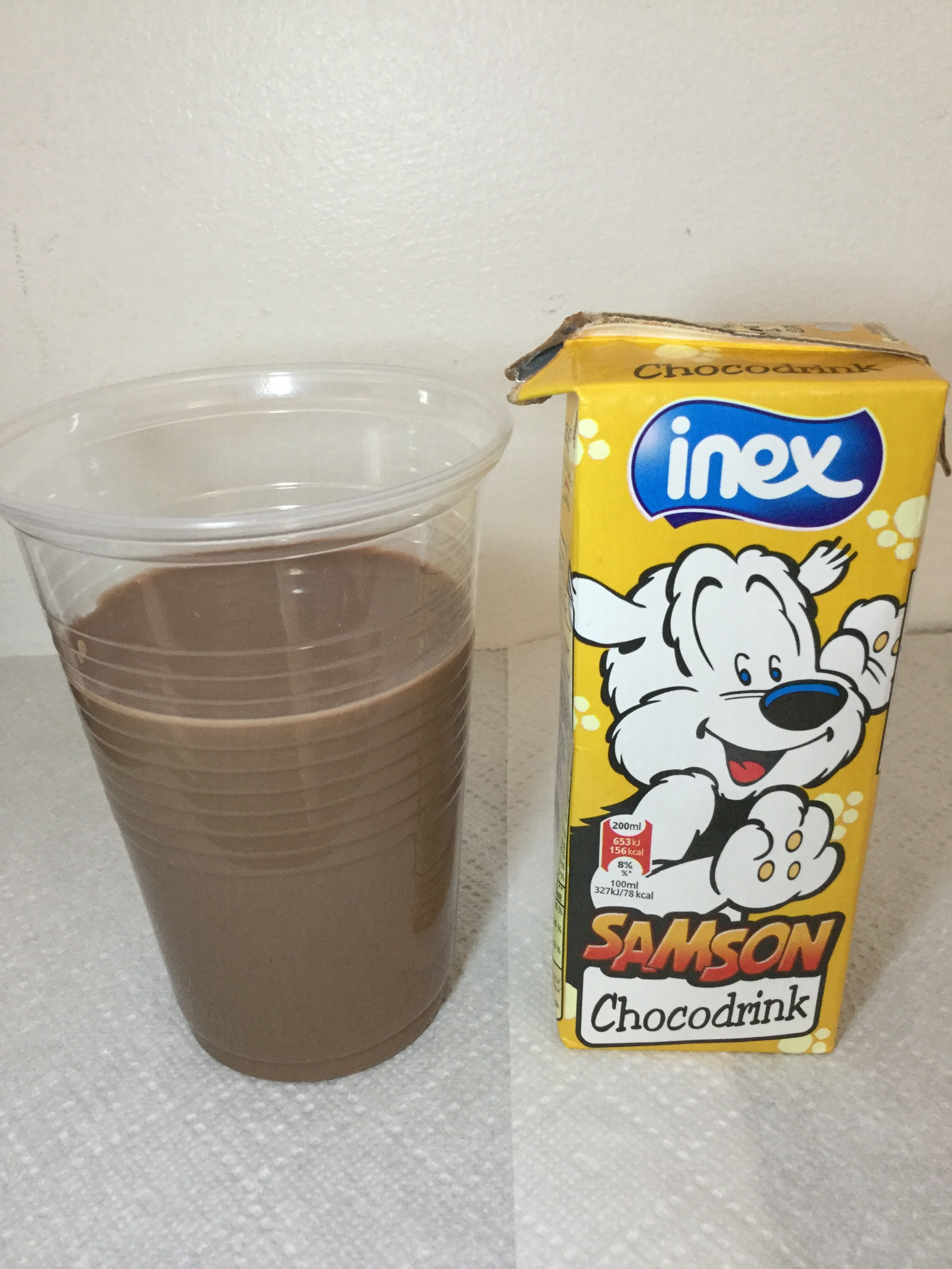 Inex Samson Chocodrink Cup