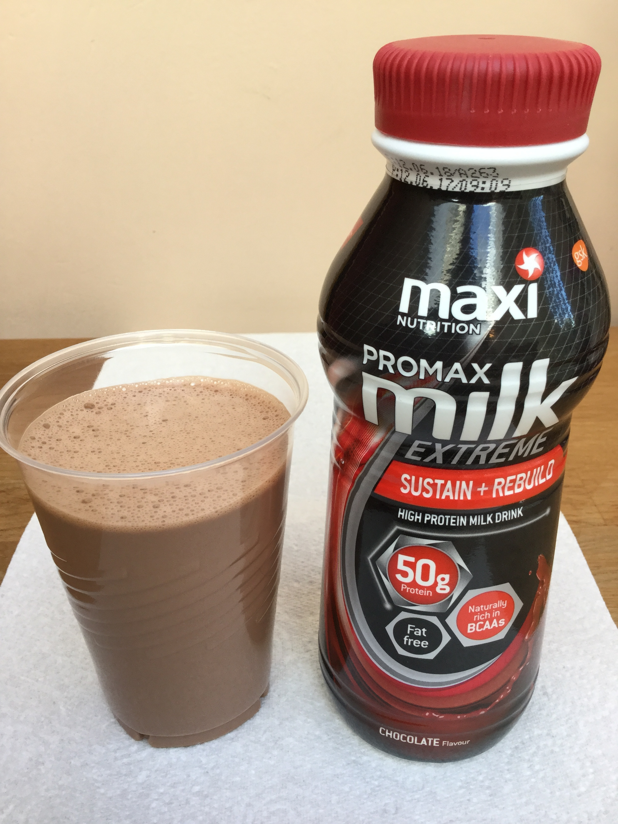 Maxi Nutrition Promax Milk Extreme Chocolate Cup
