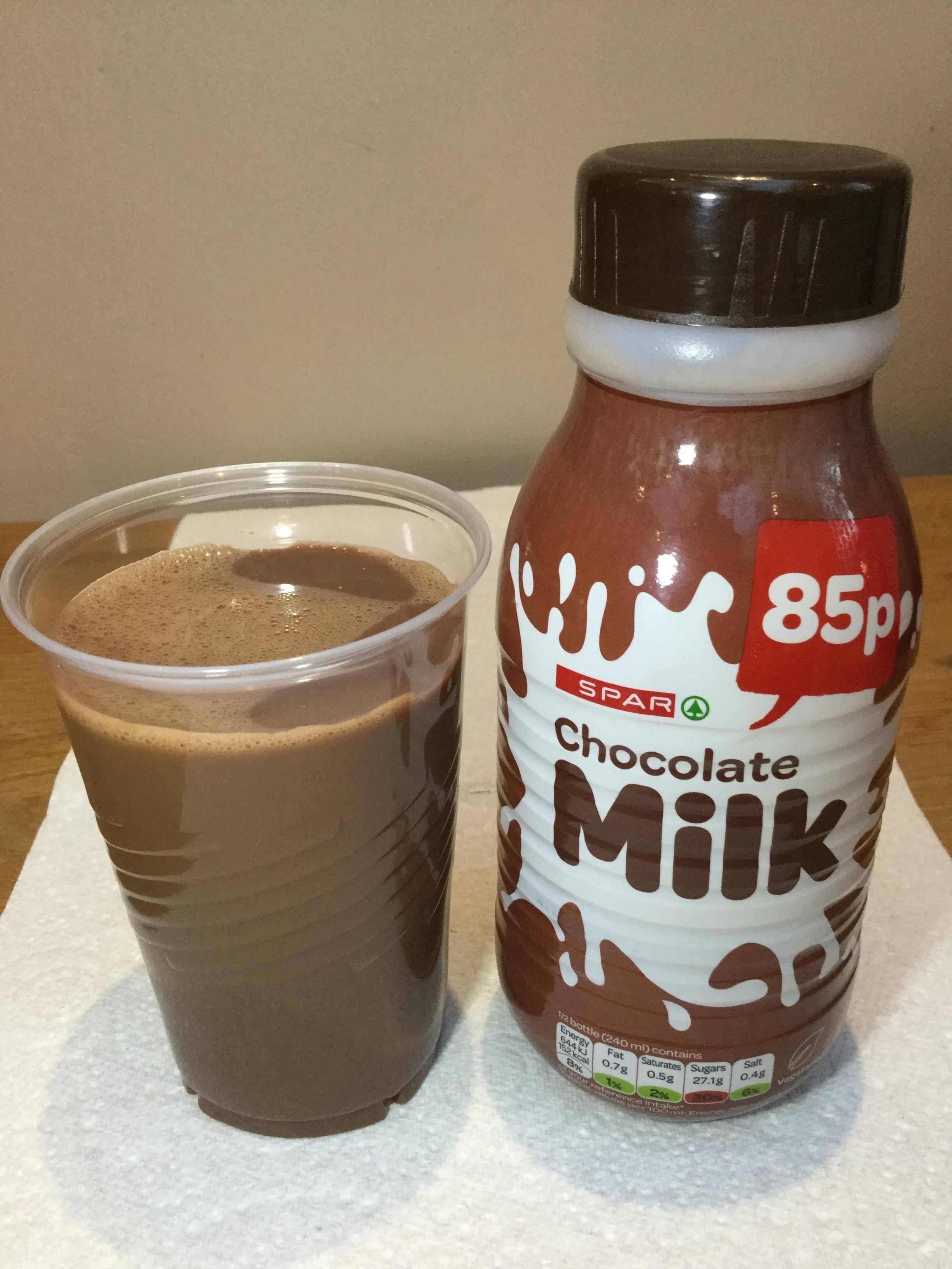 Spar Chocolate Milk Cup