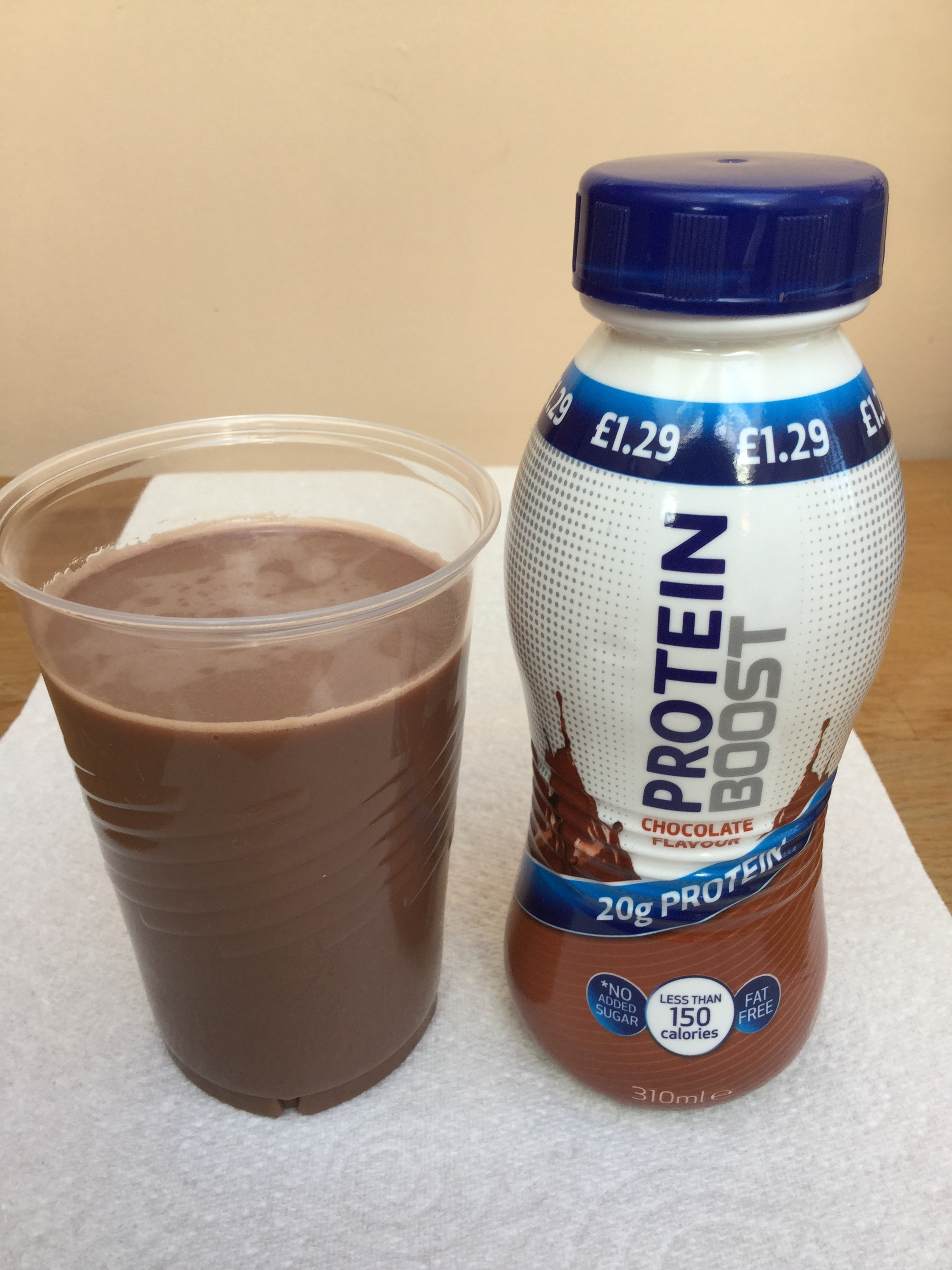 Protein Boost Chocolate Cup
