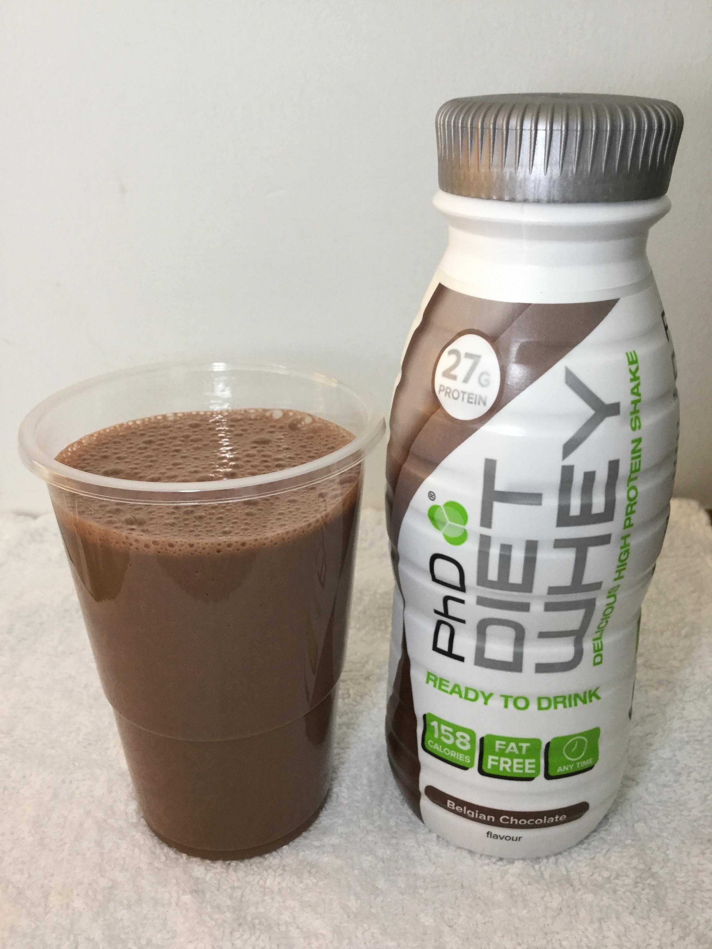 PhD Diet Whey Belgian Chocolate Cup