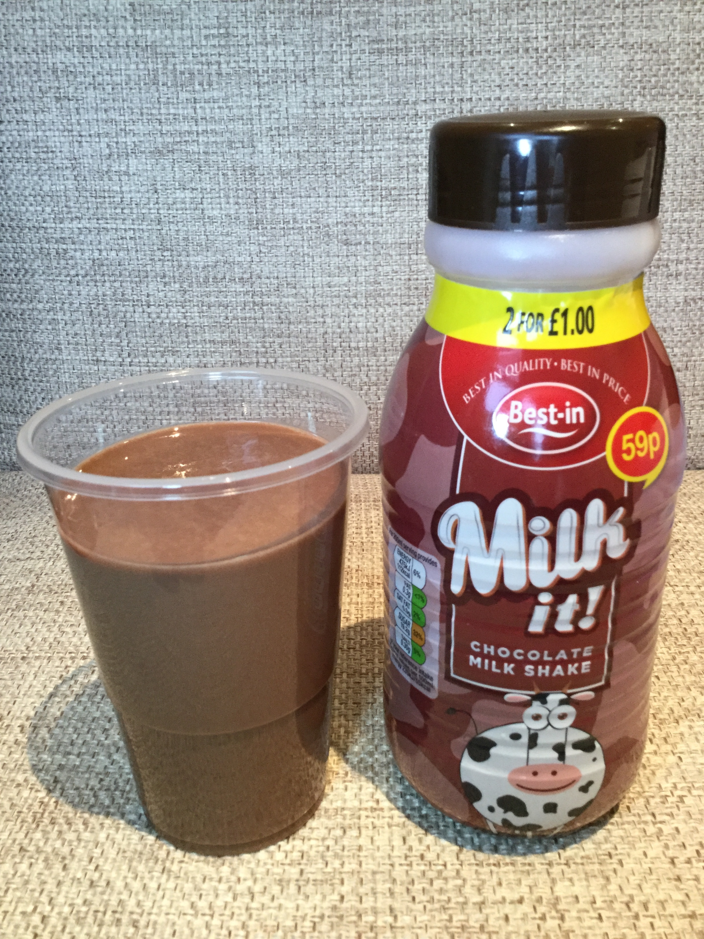 Best-in Milk It Chocolate Milk Shake Cup