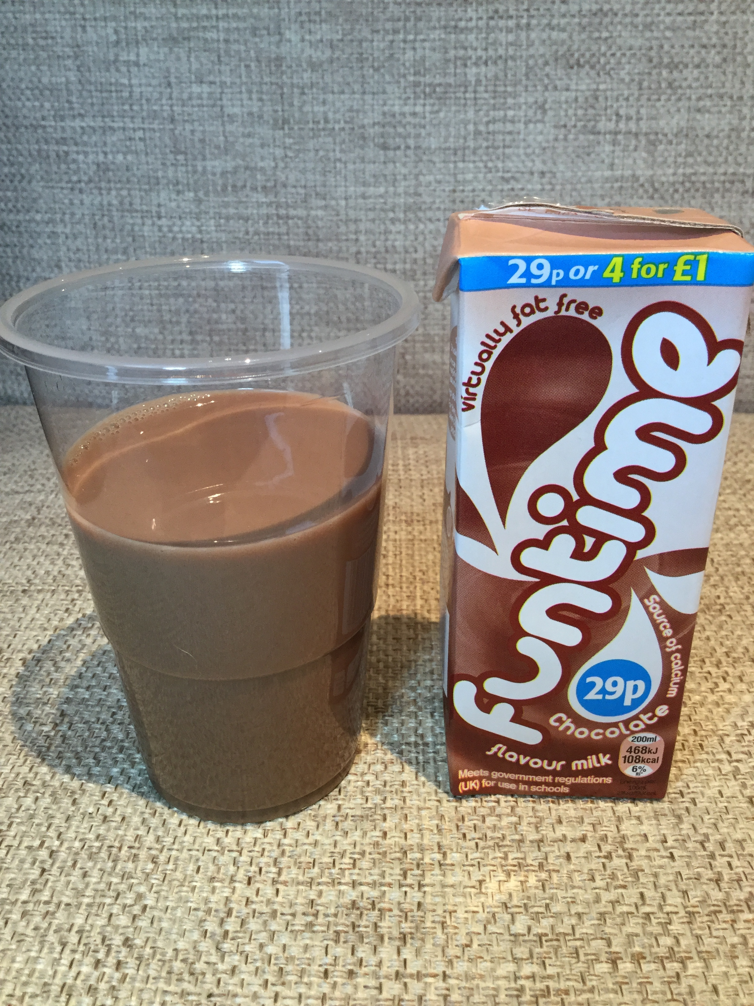 Funtime Chocolate Milk Cup