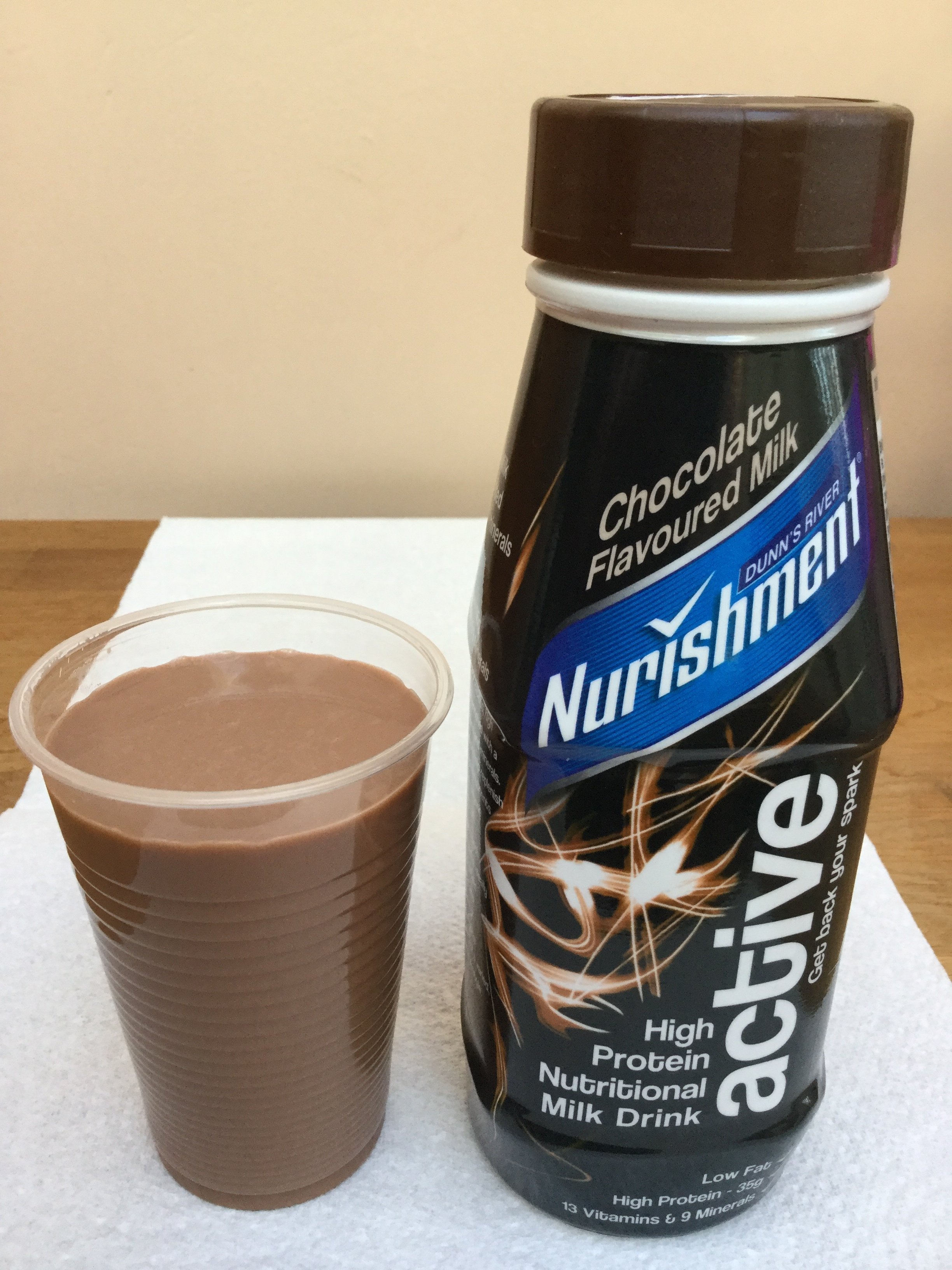 Dunn's River Nurishment Active Chocolate Cup
