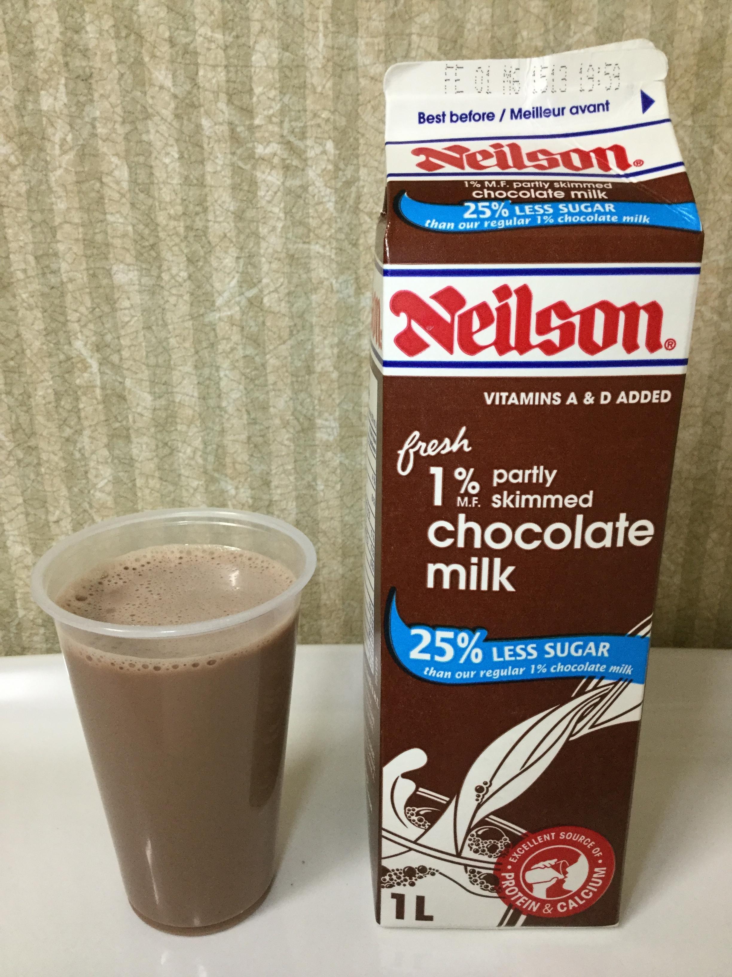 Neilson Chocolate Milk 25% Less Sugar Cup