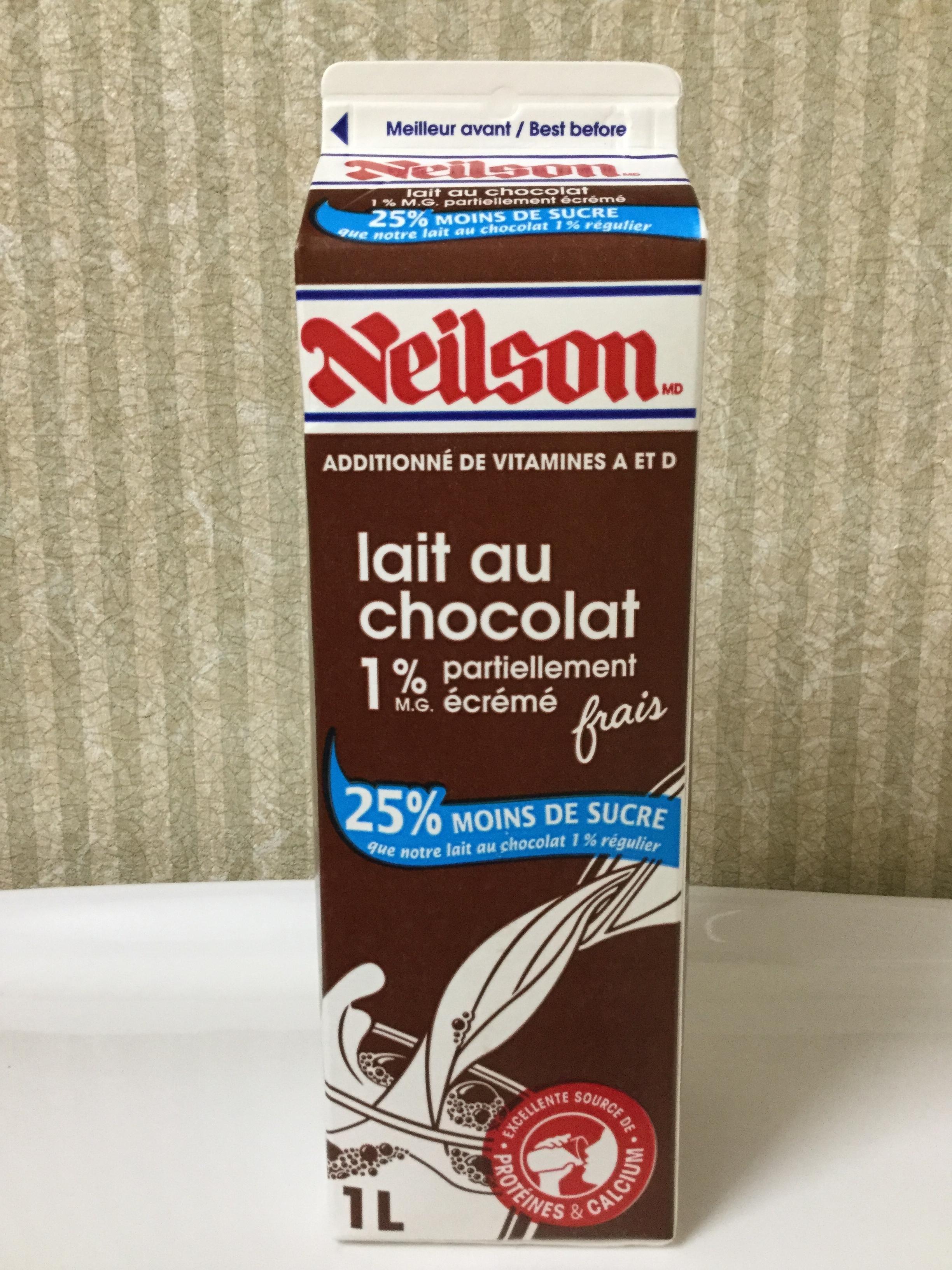 Neilson Chocolate Milk 25% Less Sugar Side 3