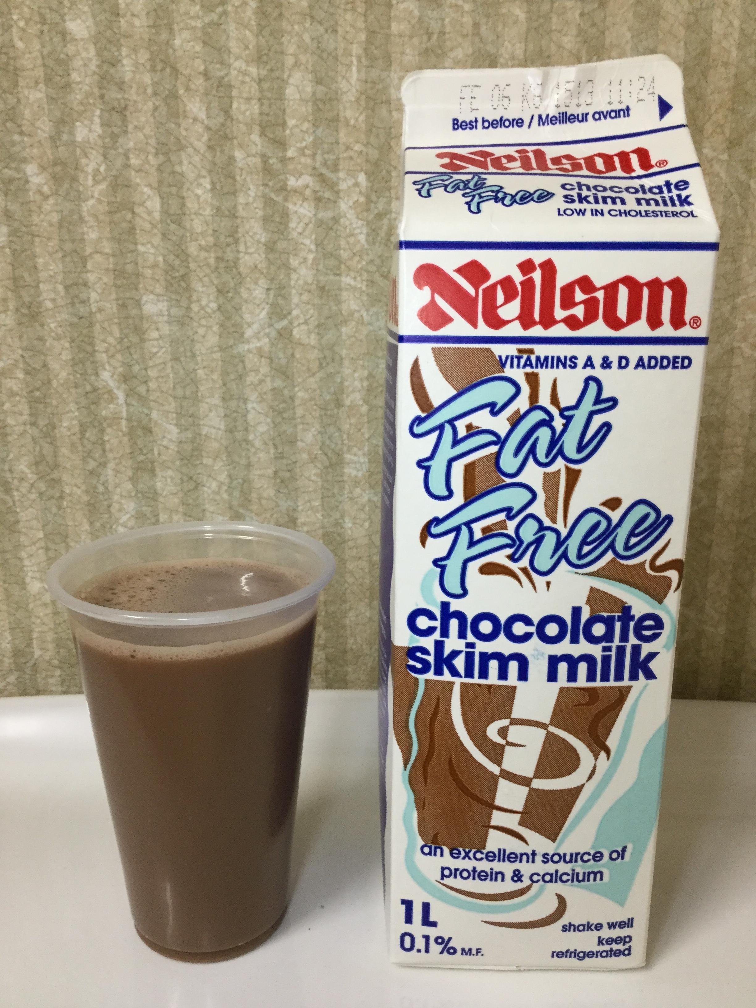 Neilson Fat Free Chocolate Milk Cup