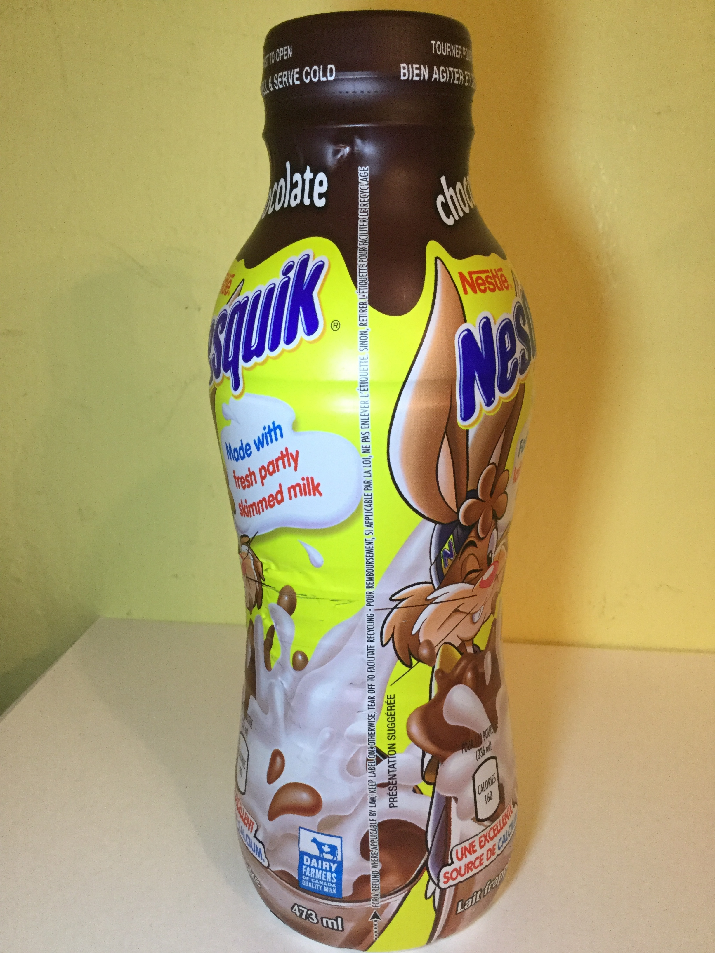 Nestle Nesquik Chocolate Milk Side 4