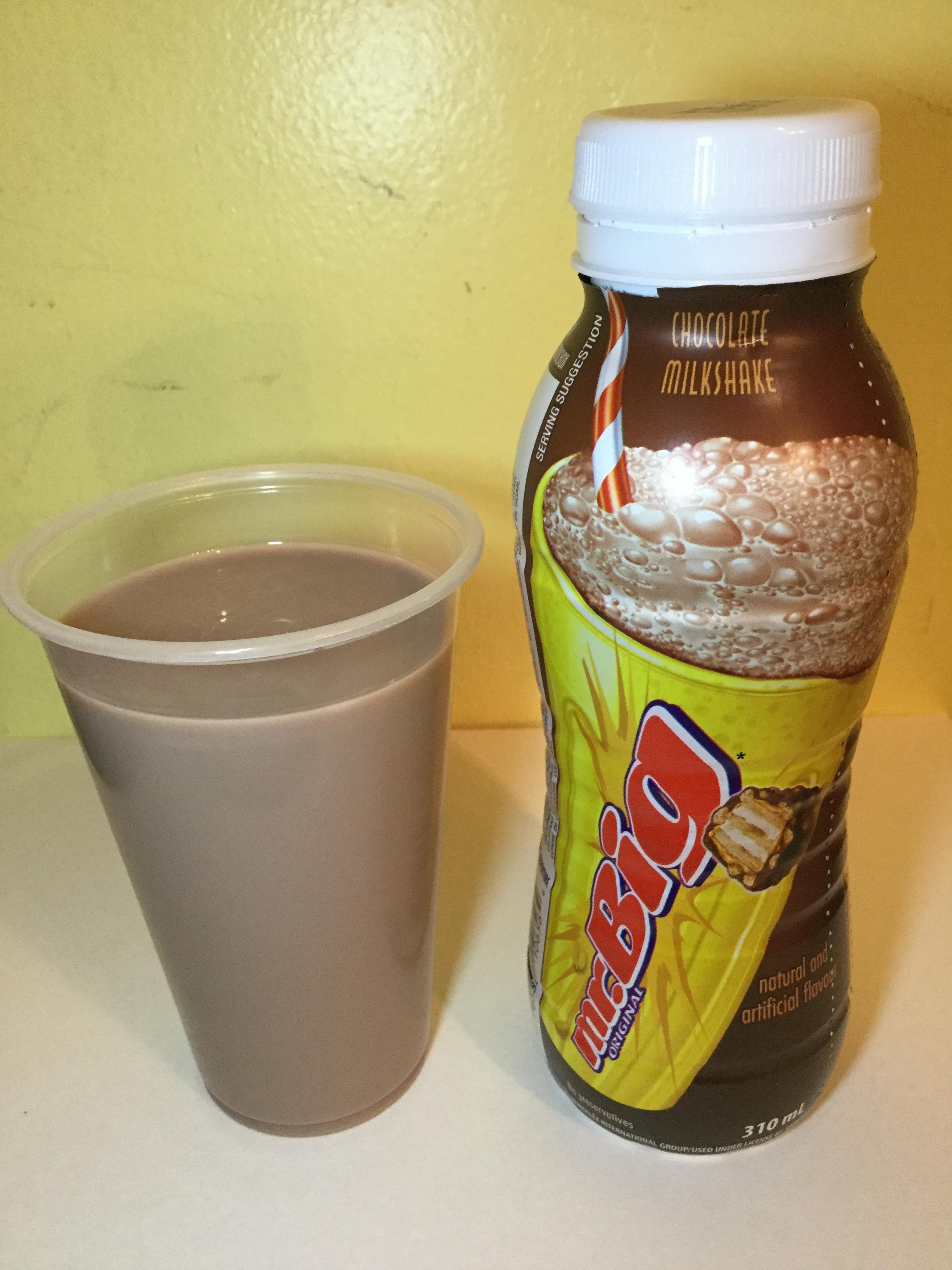 Mr. Big Chocolate Milkshake Cup