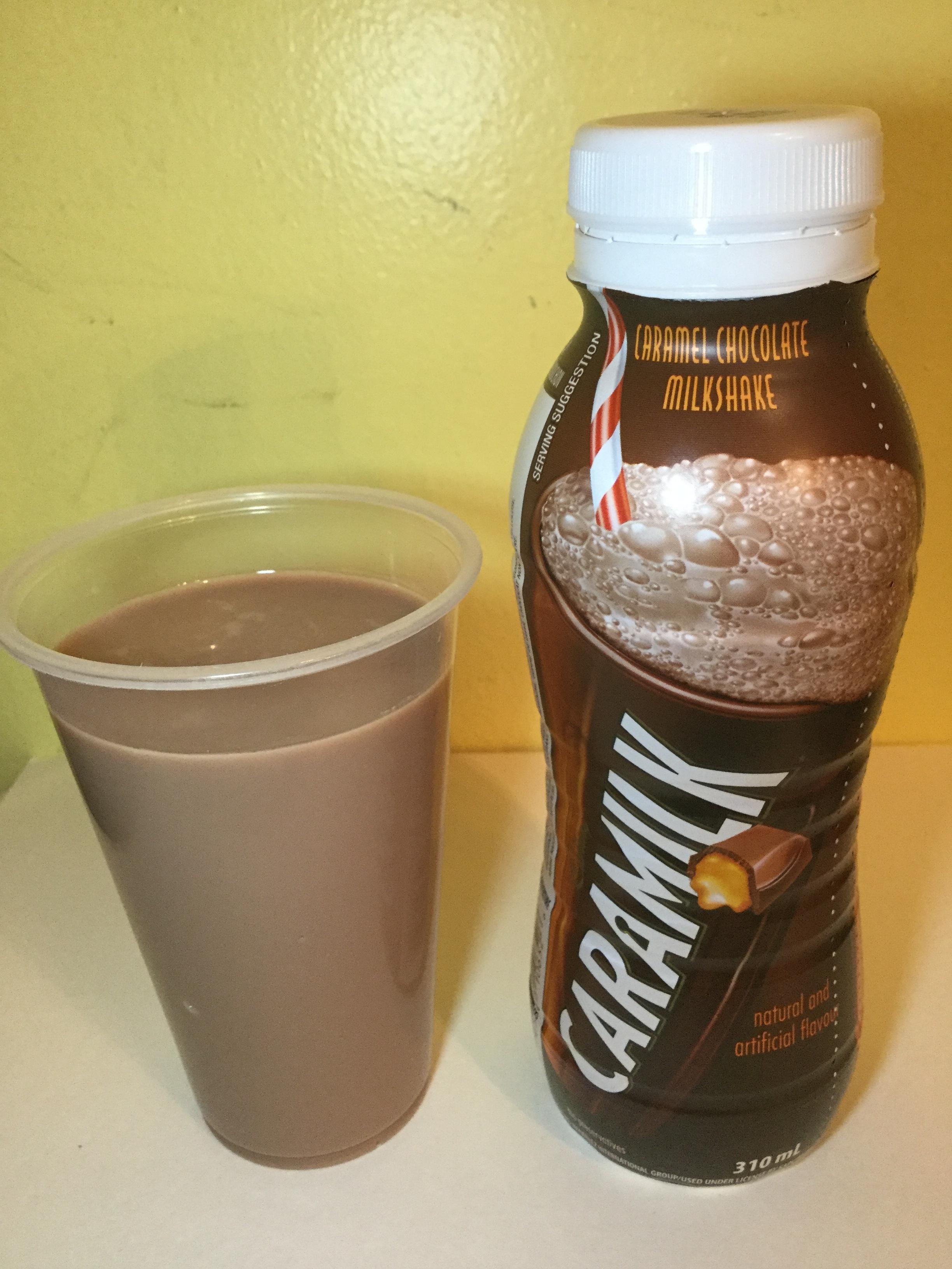 Cadbury Caramilk Caramel Chocolate Milkshake Cup