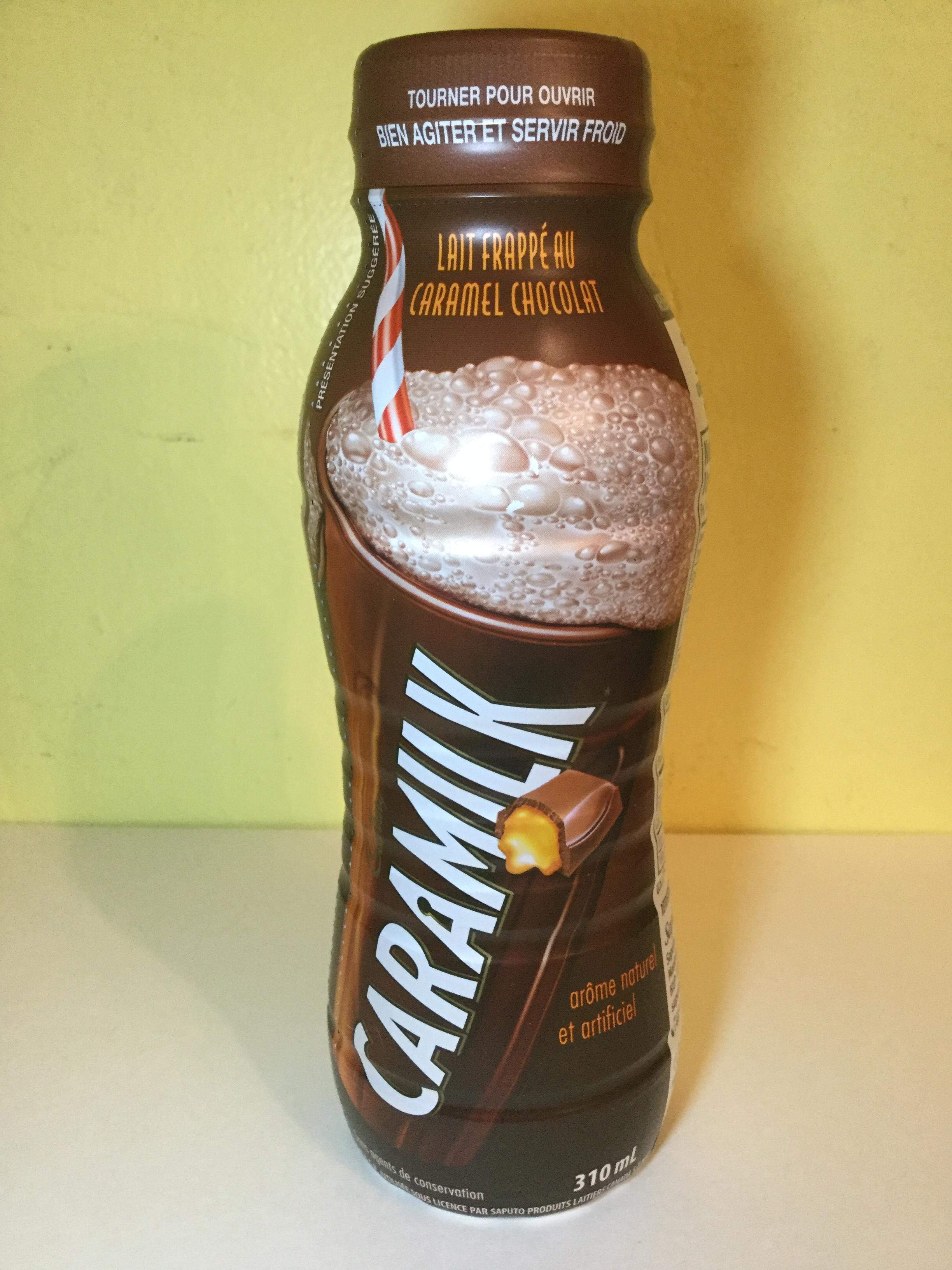 Cadbury Caramilk Caramel Chocolate Milkshake Side 2