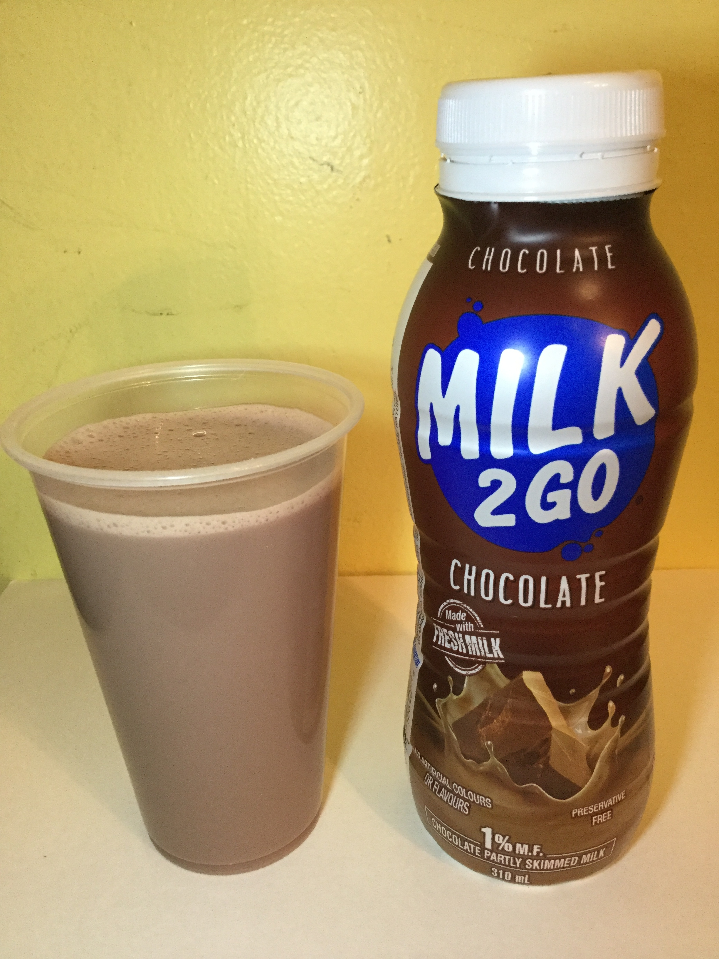 Milk 2 Go Chocolate Milk Cup