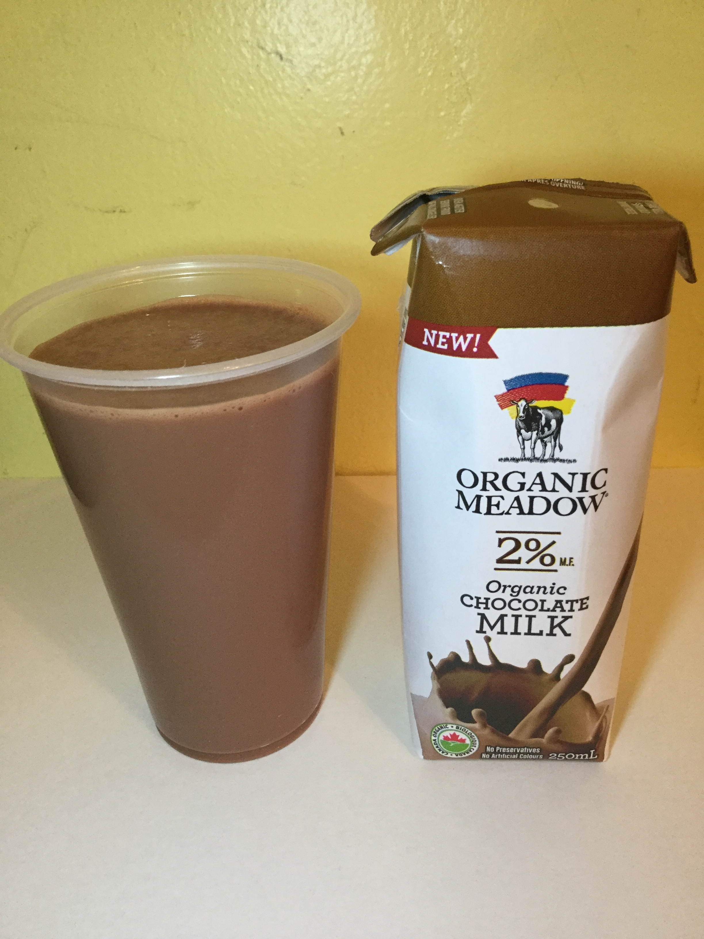 Organic Meadow Chocolate Milk (UHT) Cup