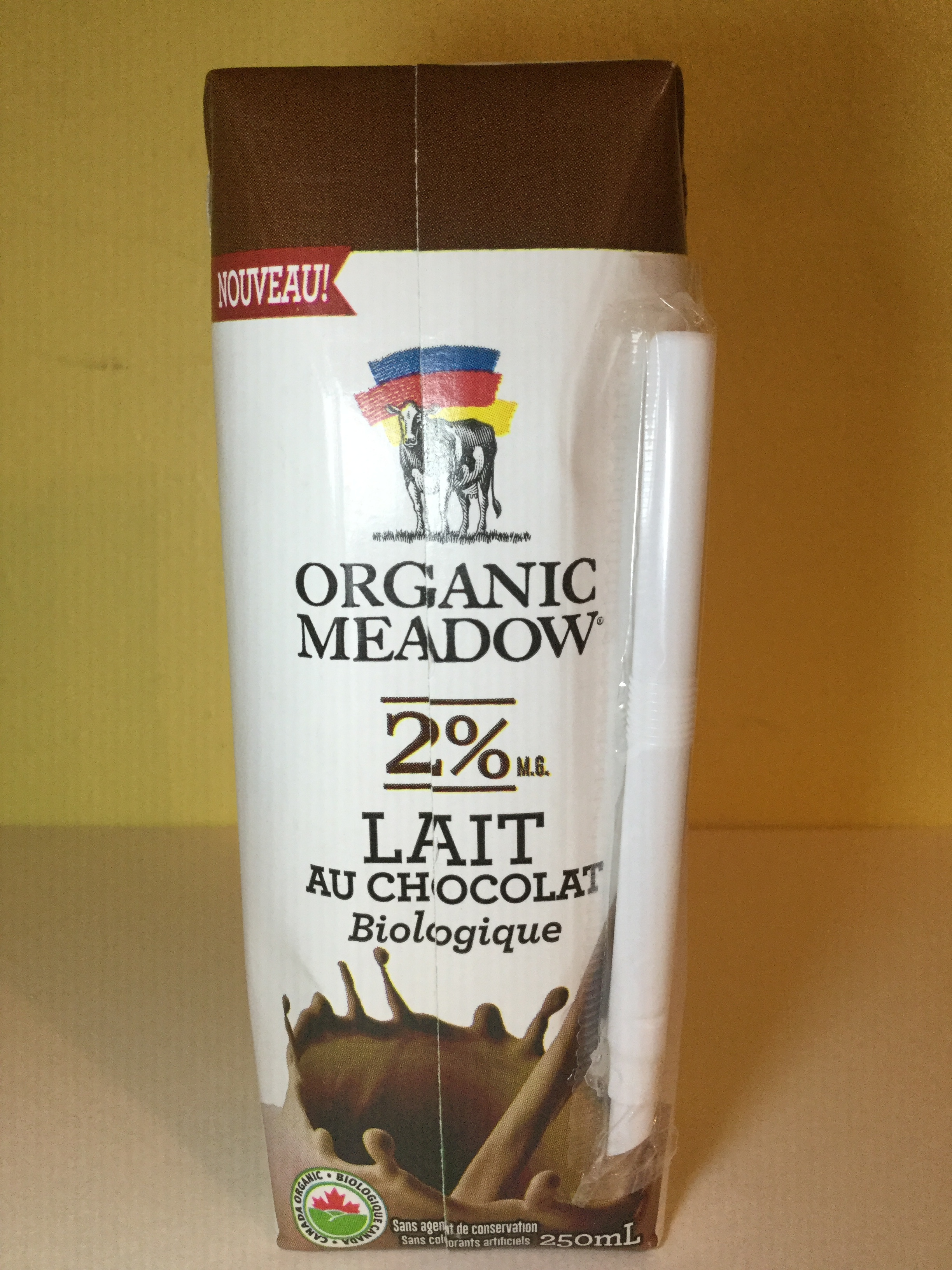 Organic Meadow Chocolate Milk (UHT) Side 3