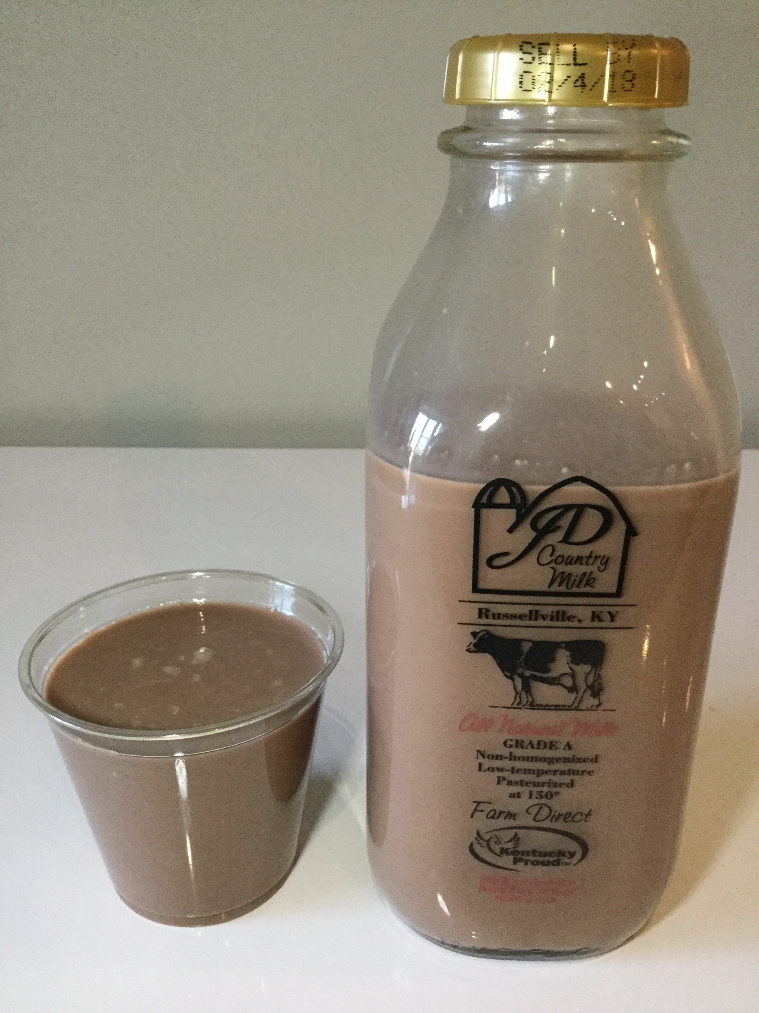 JD Country Chocolate Milk Cup