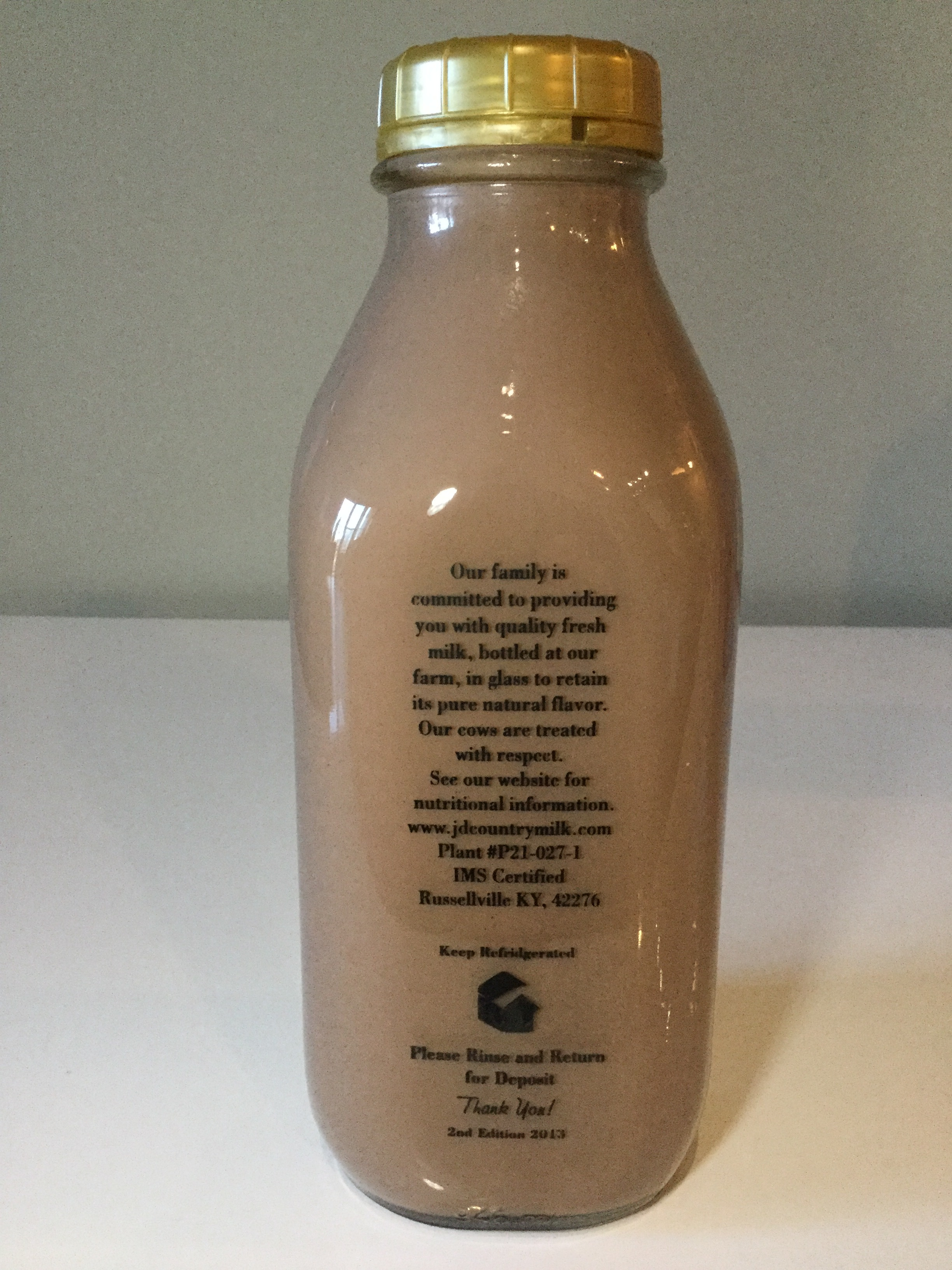 JD Country Chocolate Milk Side 1