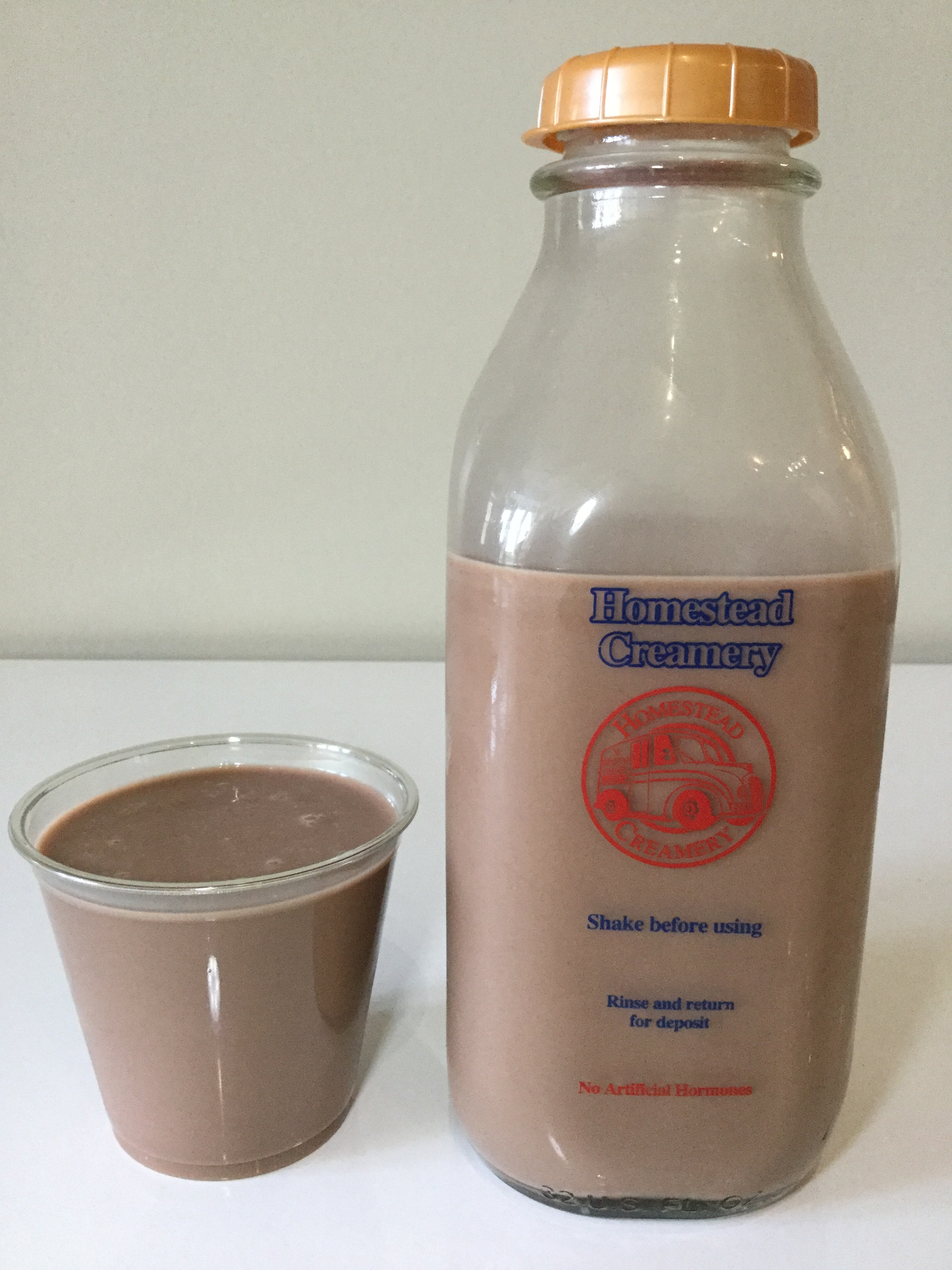 Homestead Creamery Chocolate Milk Cup