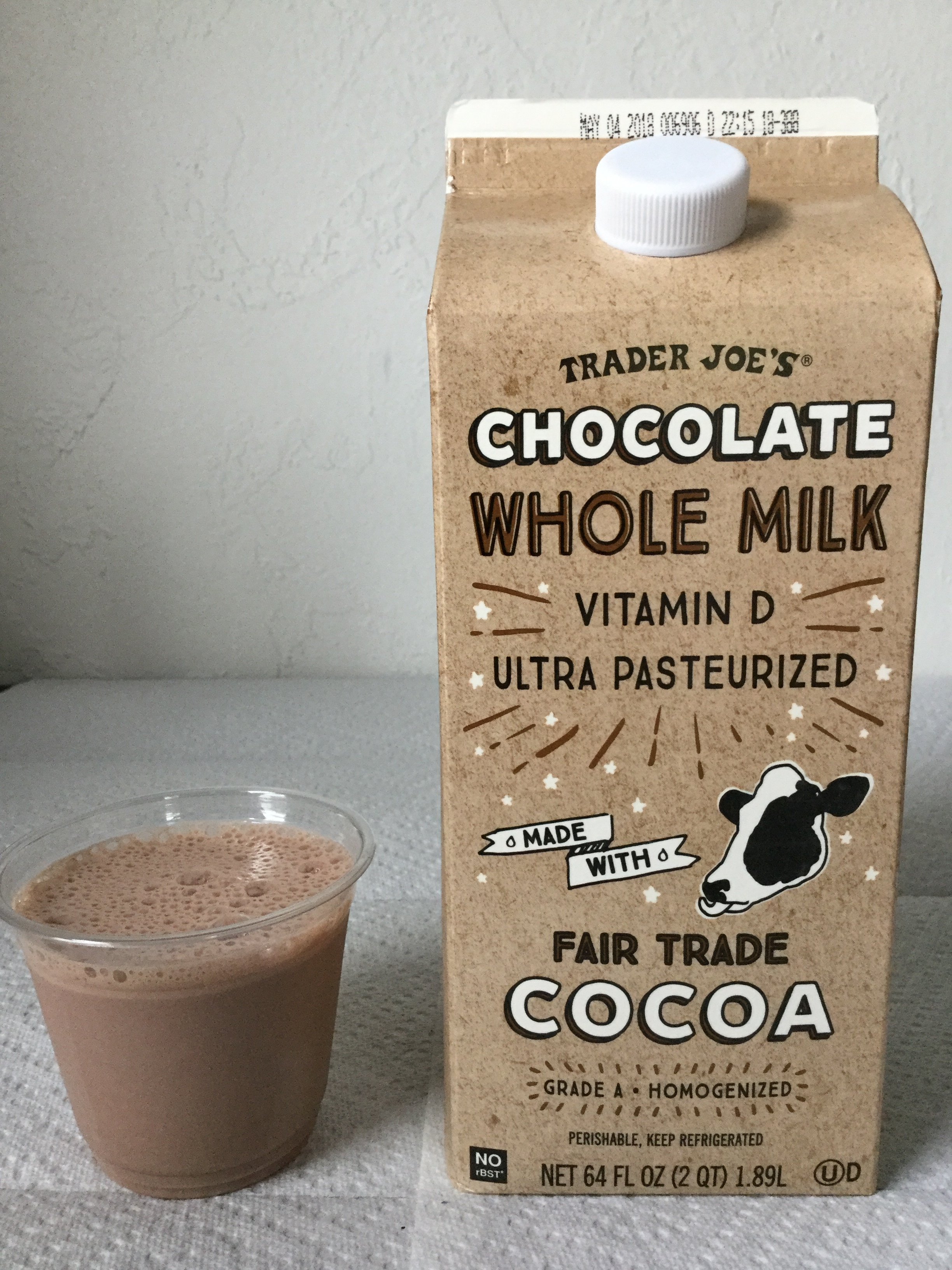 Trade Joe's Chocolate Milk is famous chocolate milk brands and is very much healthy and is very popular