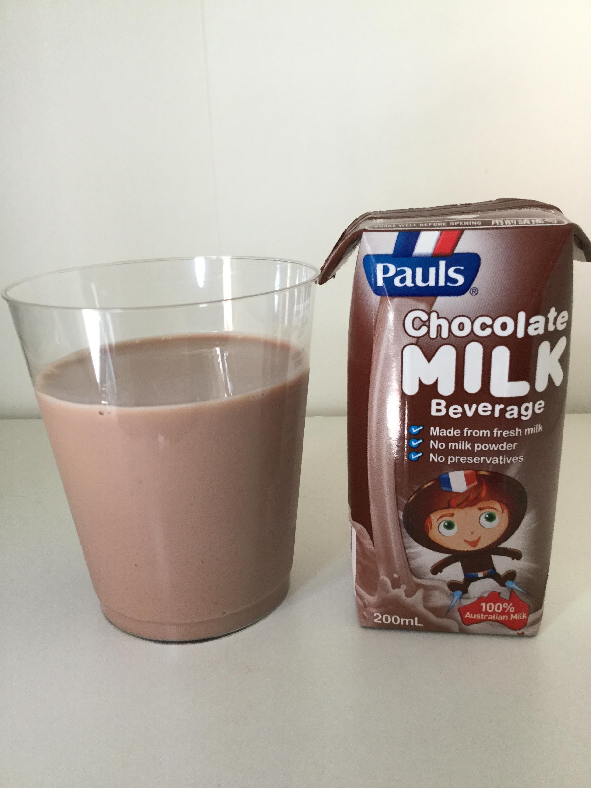 Pauls Chocolate Milk Cup