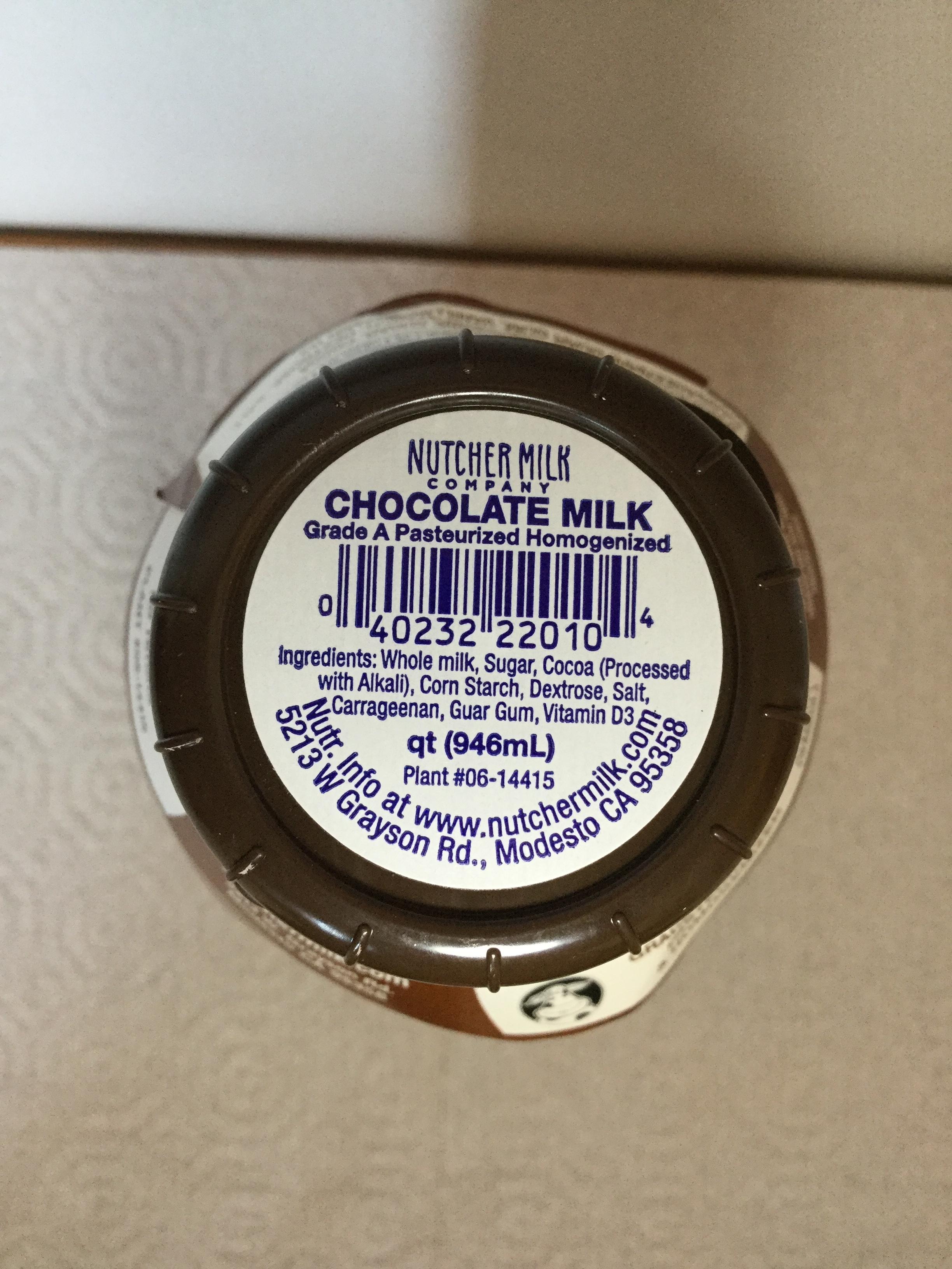 Nutcher Chocolate Milk Top