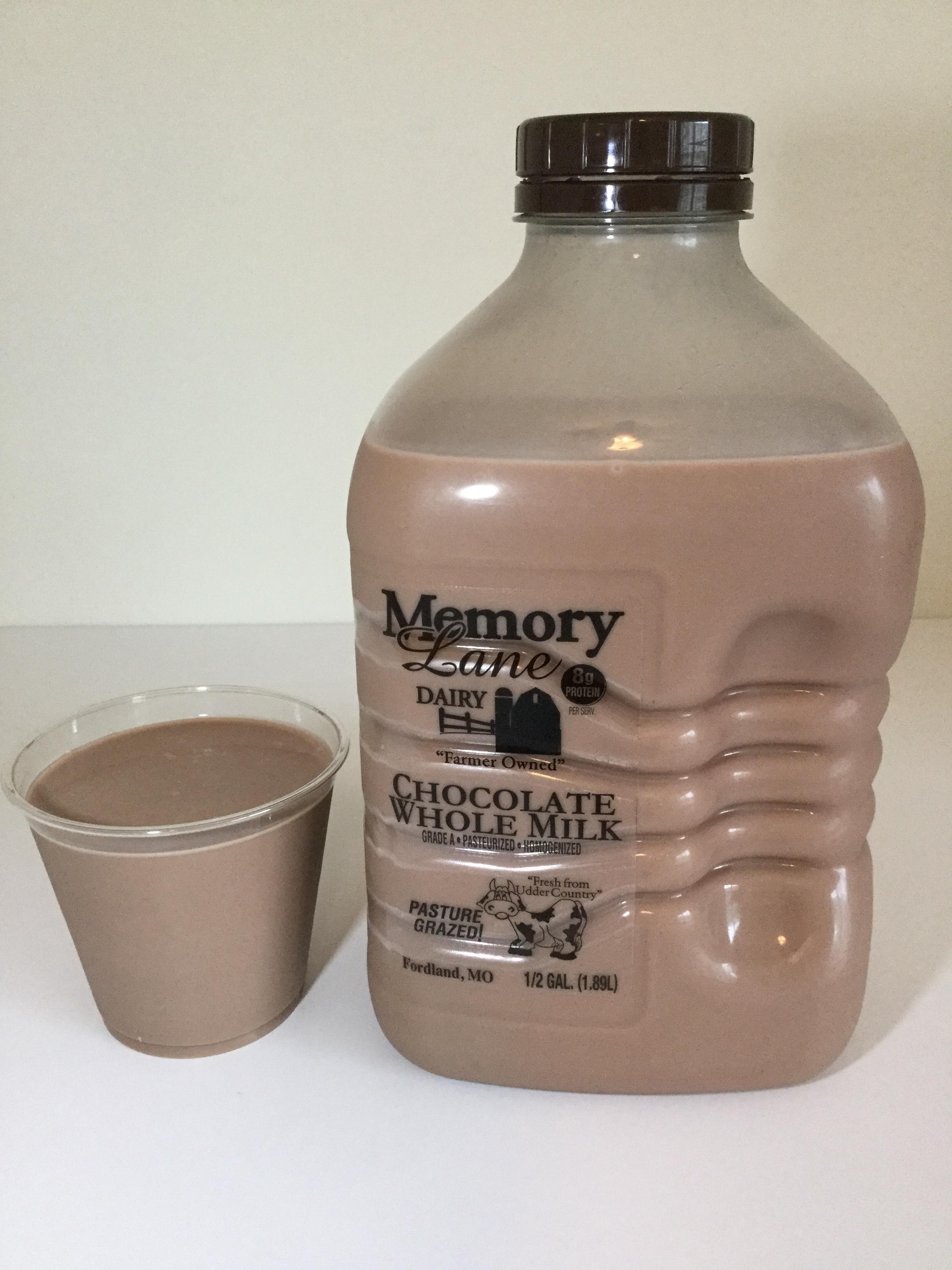 Memory Lane Dairy Chocolate Milk Cup