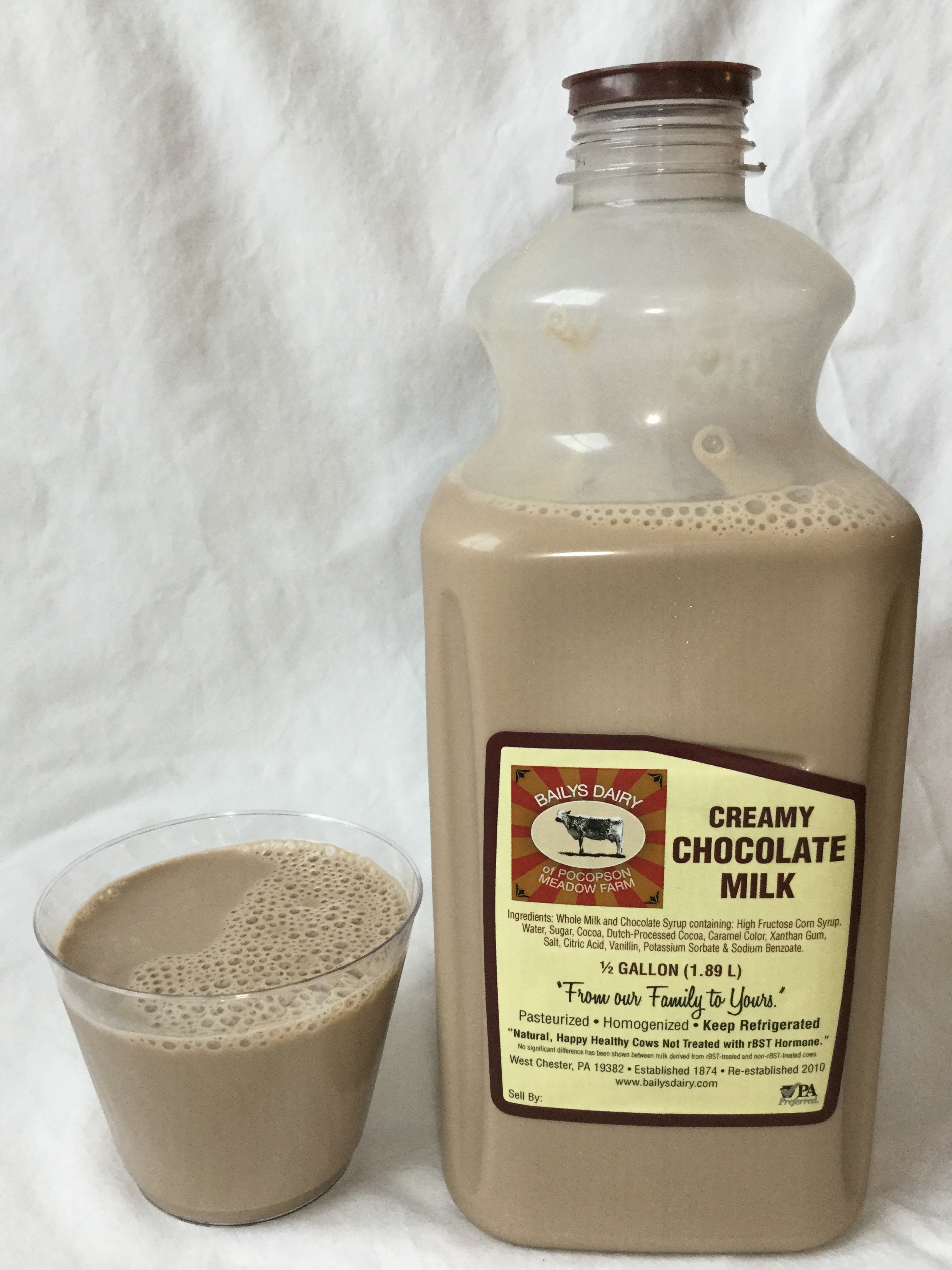 Bailys Dairy Chocolate Milk Cup