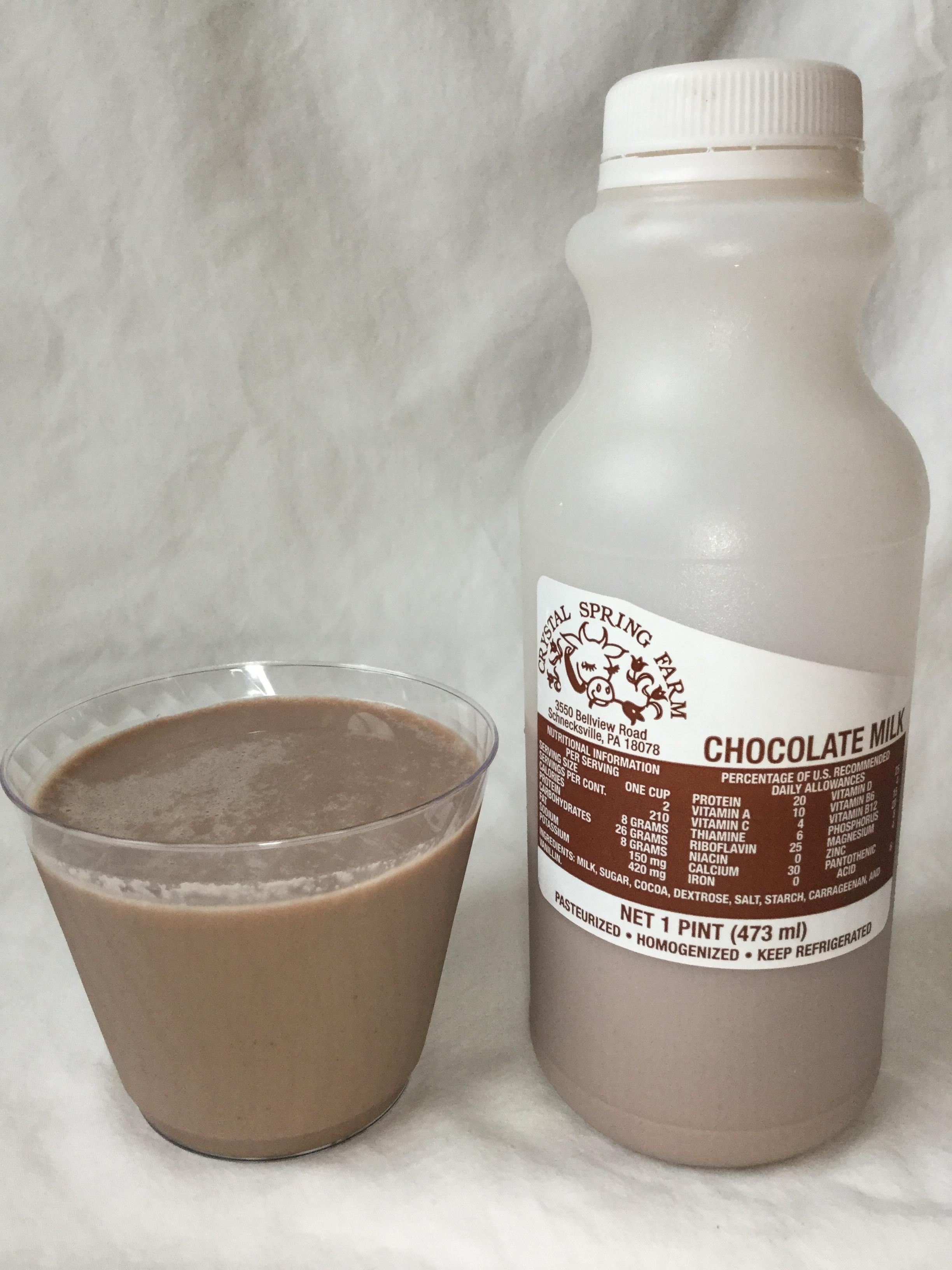 Crystal Spring Farm Chocolate Milk Cup