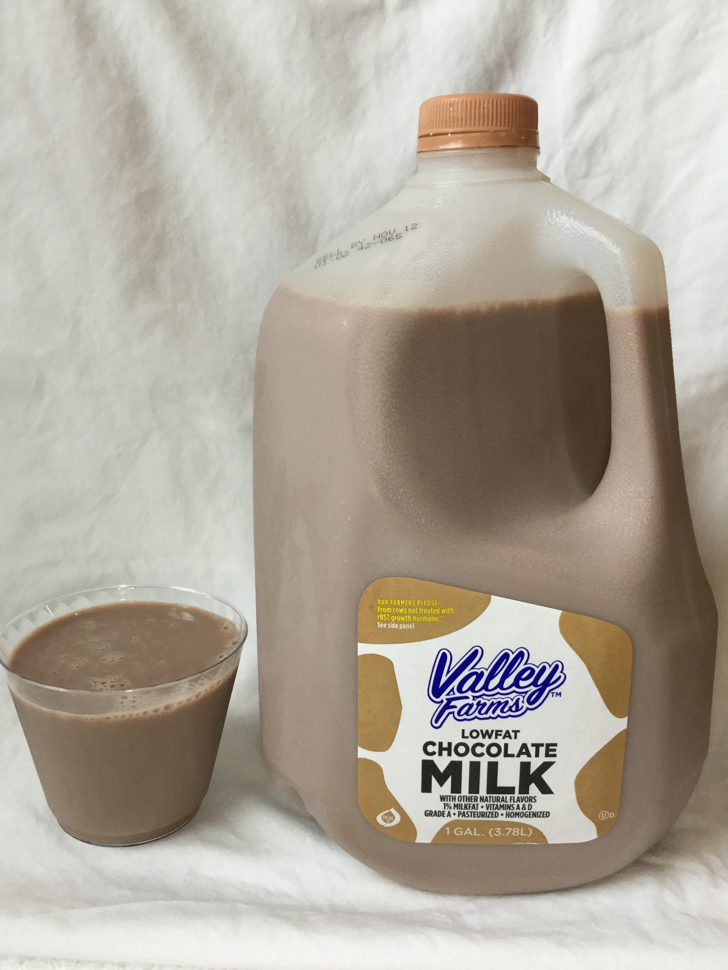 Valley Farms Low Fat Chocolate Milk Cup