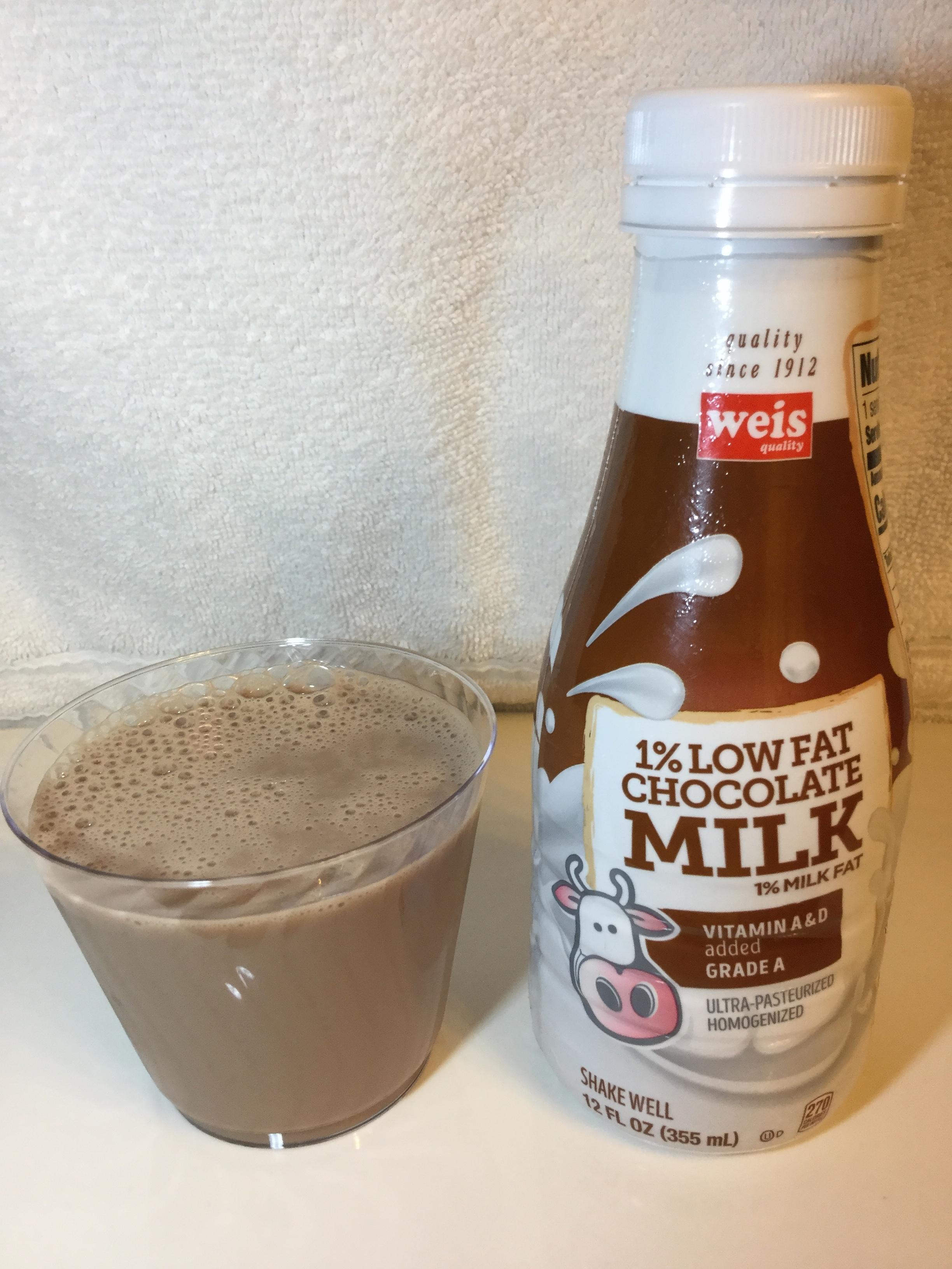 Weis Lowfat Chocolate Milk Cup