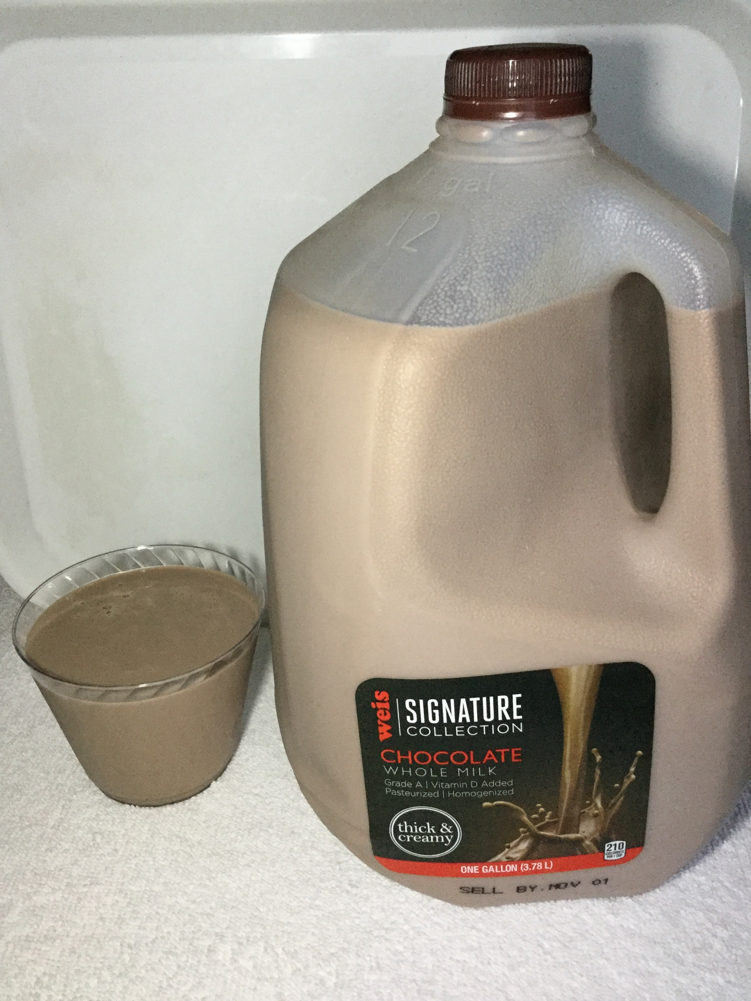 Weis Signature Collection Chocolate Milk Cup