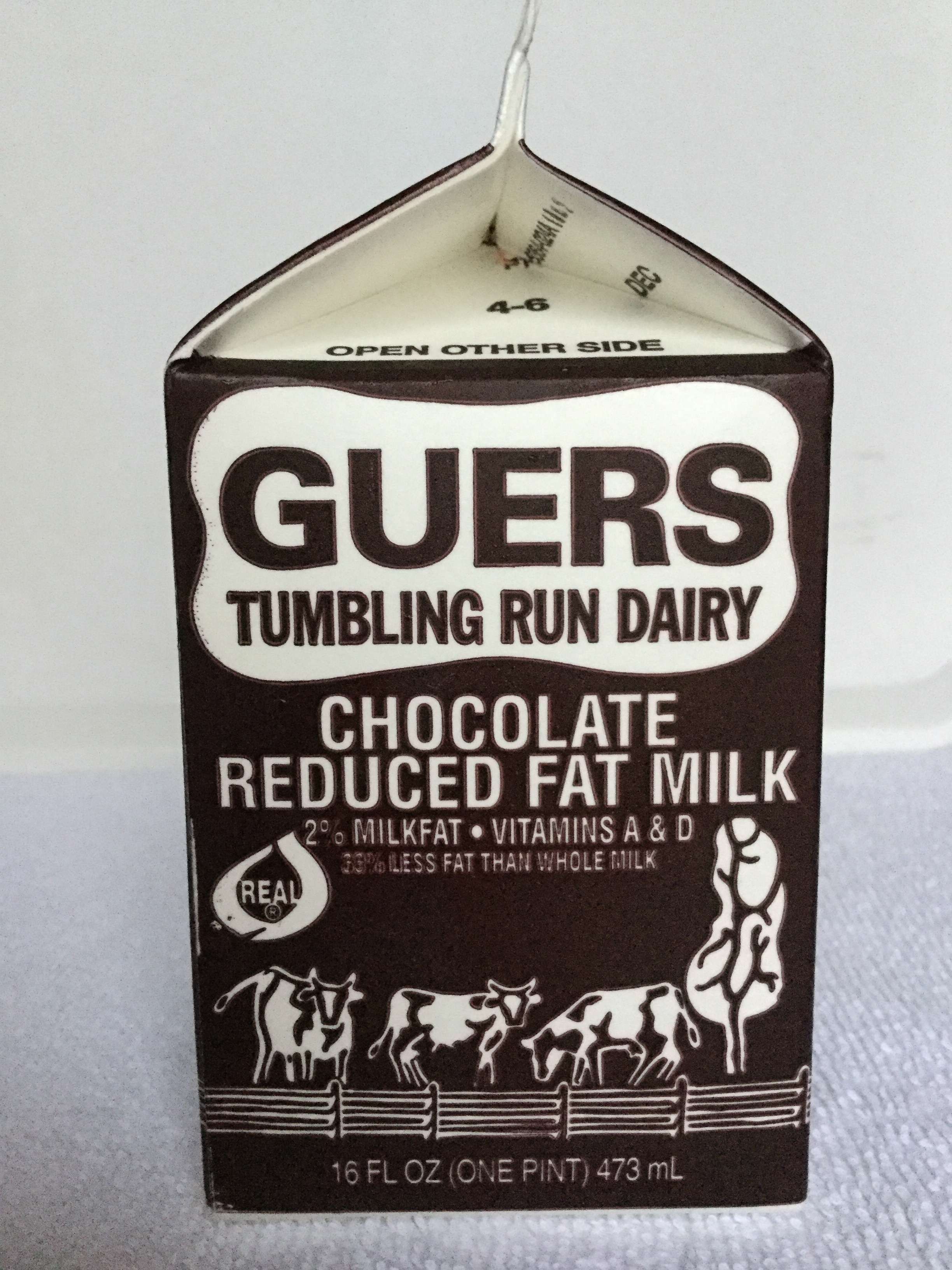 Guers Chocolate Milk Side 2