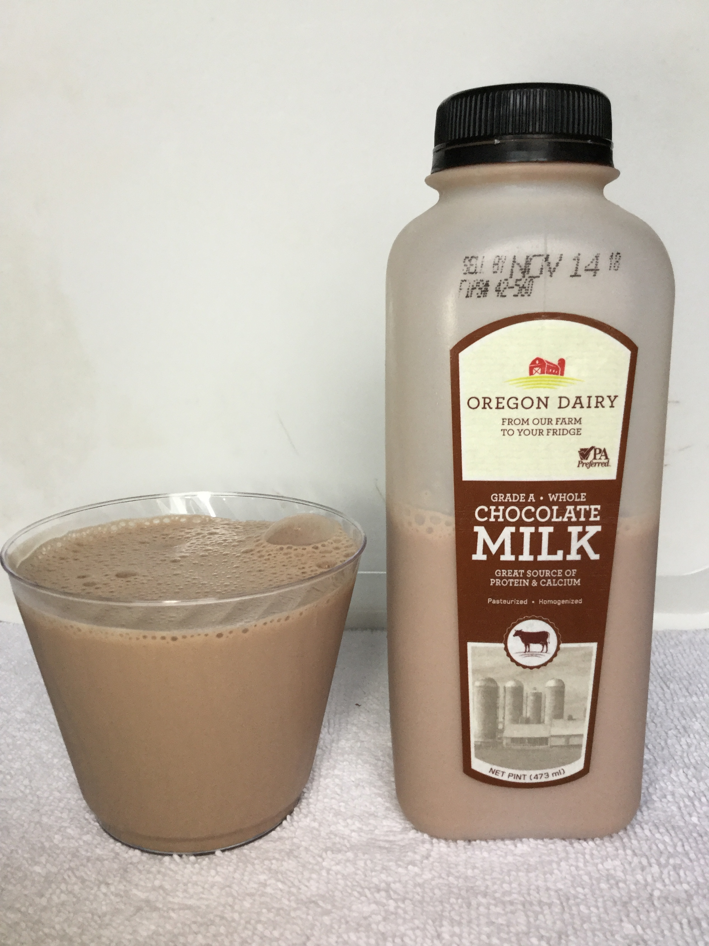 Oregon Dairy Chocolate Milk Cup