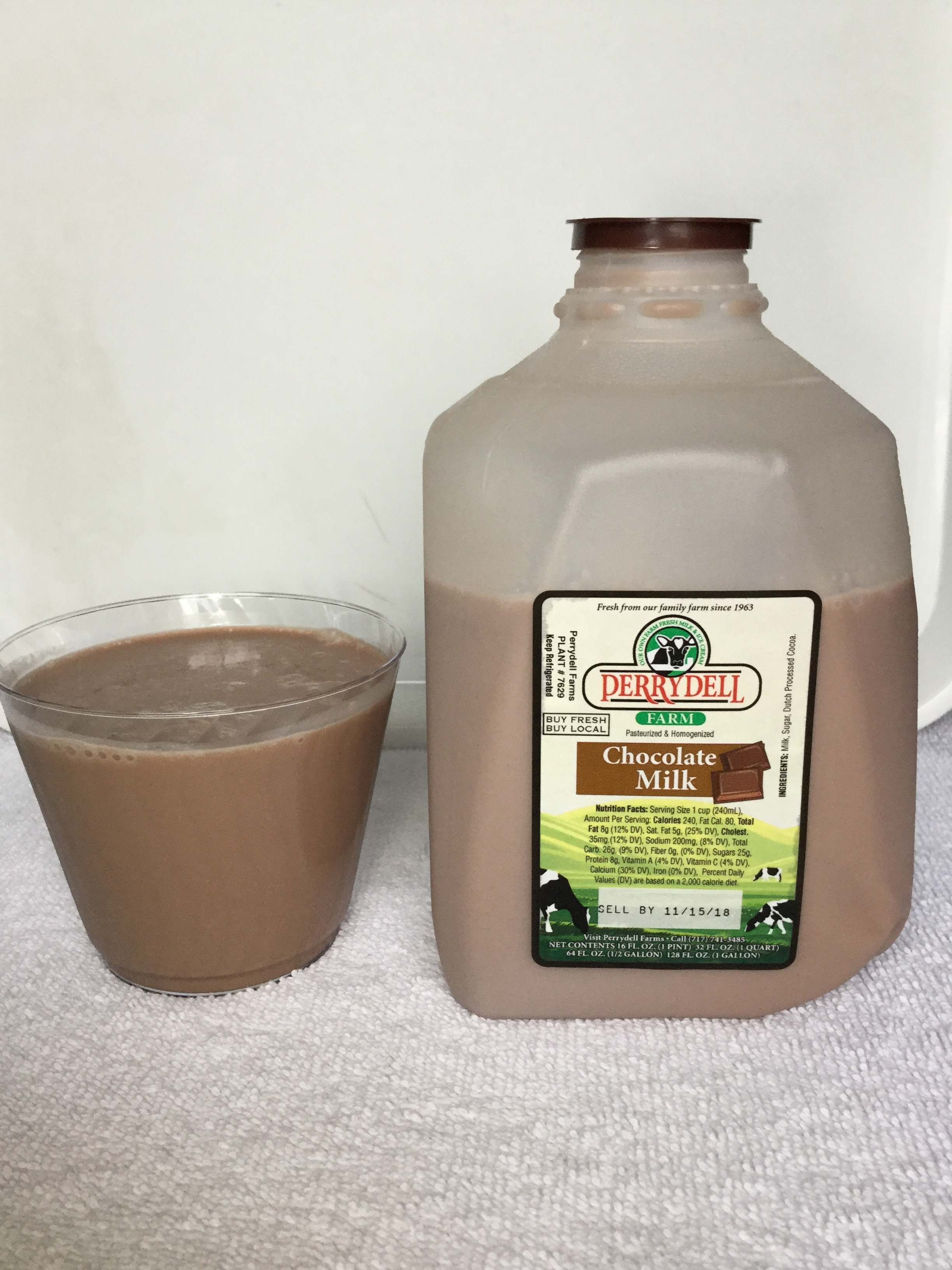 Perrydell Farm Chocolate Milk Cup