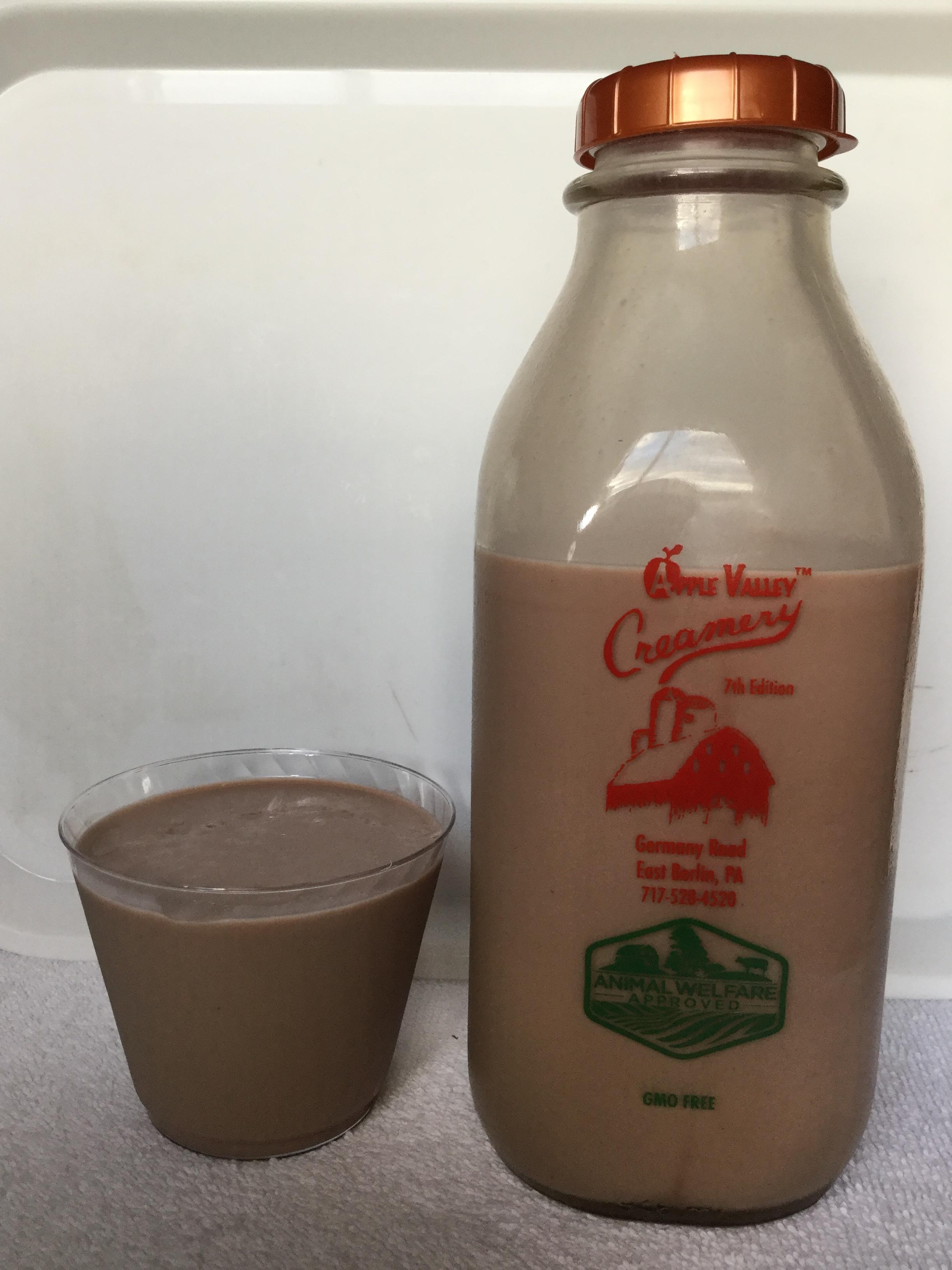 Apple Valley Creamery Chocolate Milk Cup