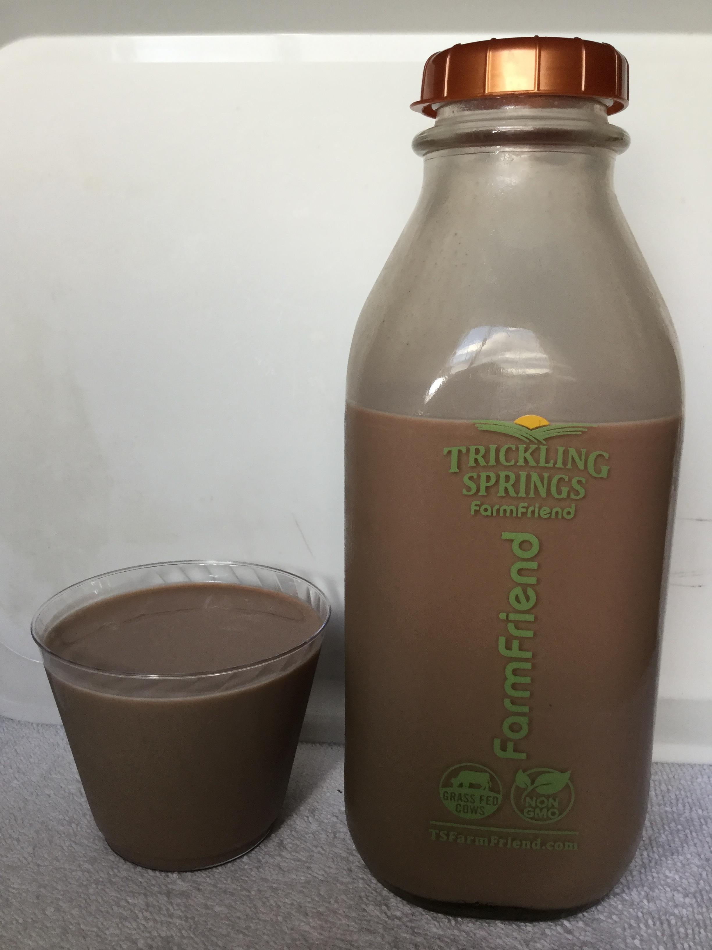 Trickling Springs FarmFriend Chocolate Milk Cup