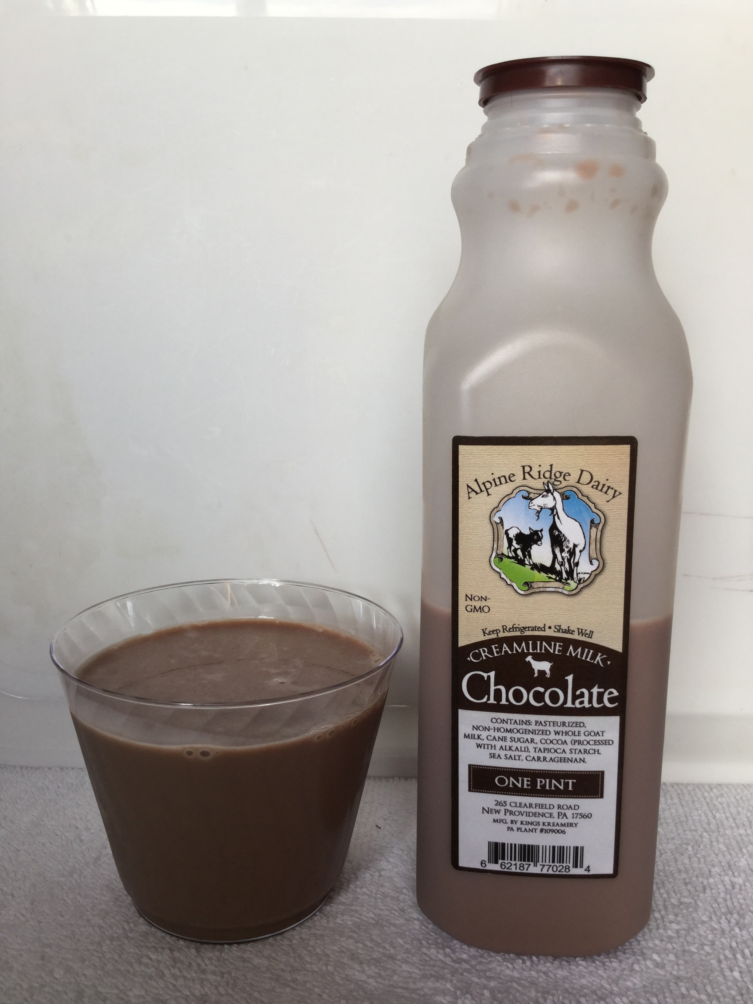 Alpine Ridge Dairy Chocolate Goat Milk Cup