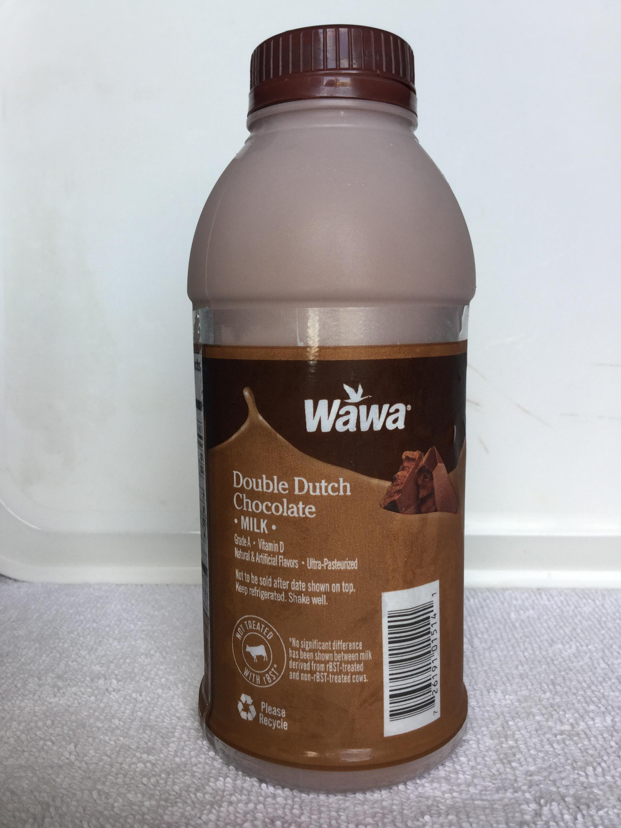 Wawa Double Dutch Chocolate Milk Side 2