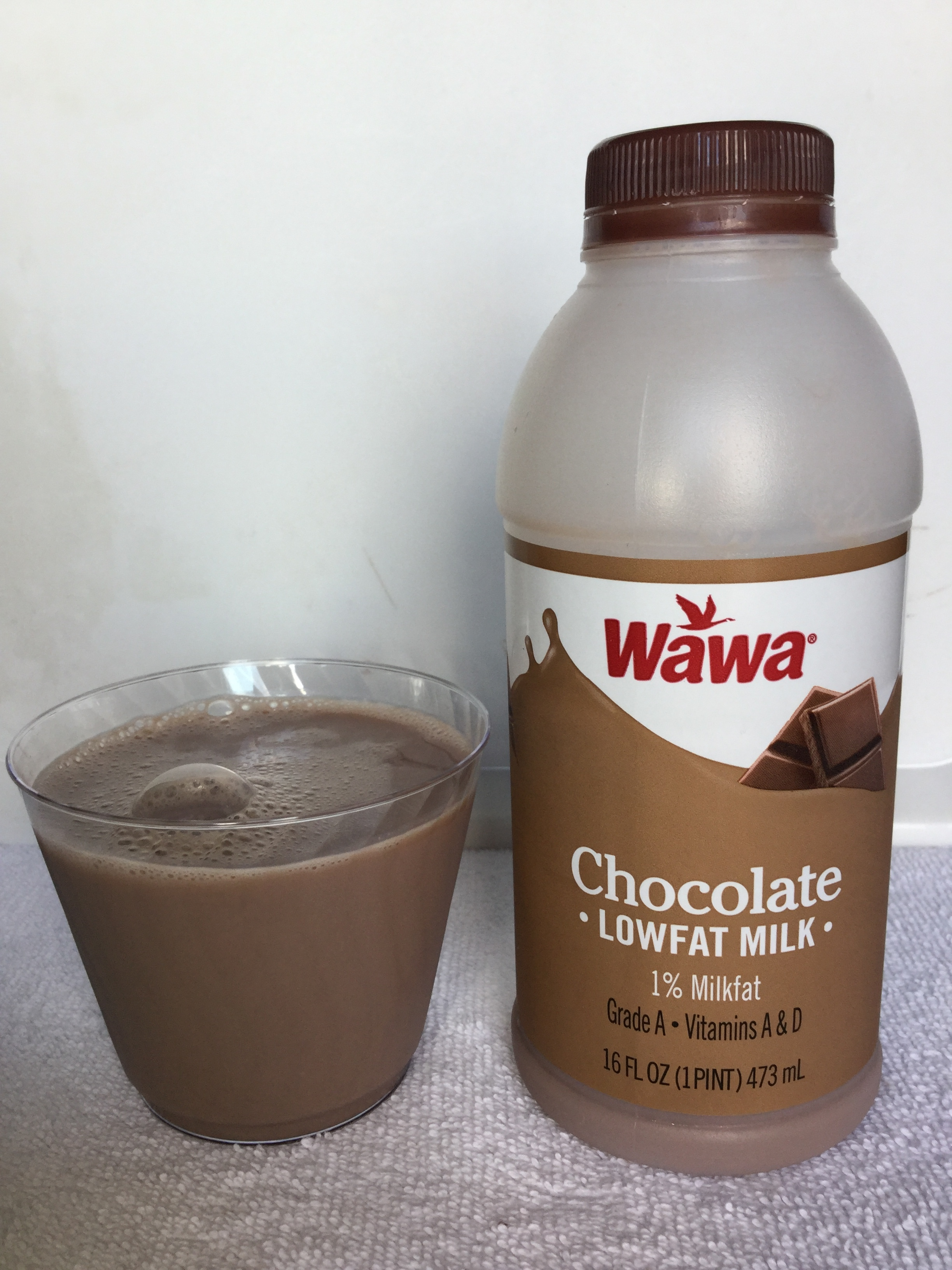Wawa Lowfat Chocolate Milk Cup