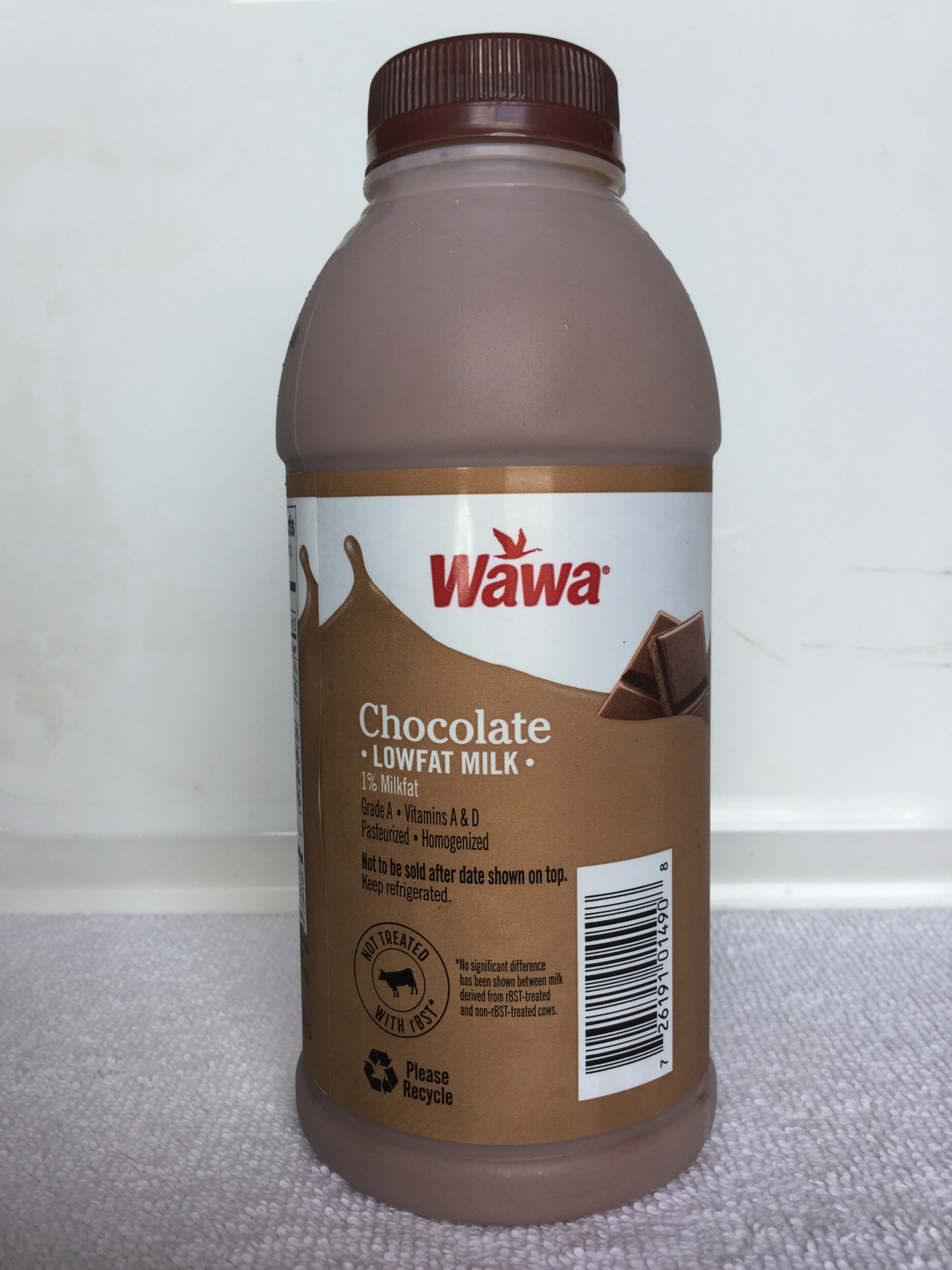Wawa Lowfat Chocolate Milk Side 2