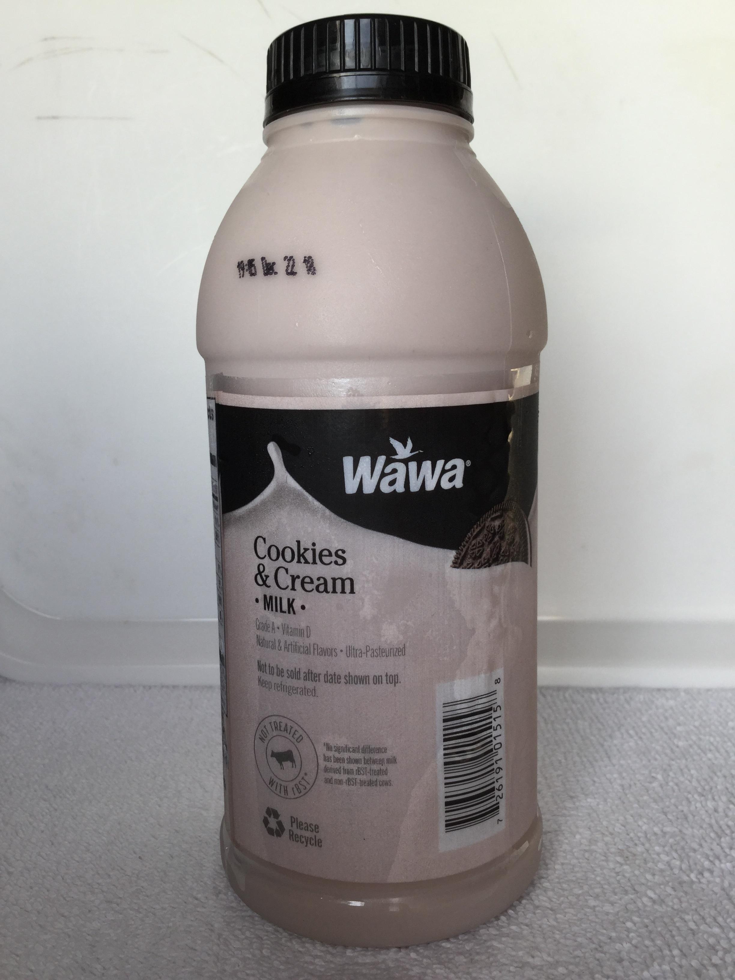 Wawa Cookies & Cream Milk Side 2