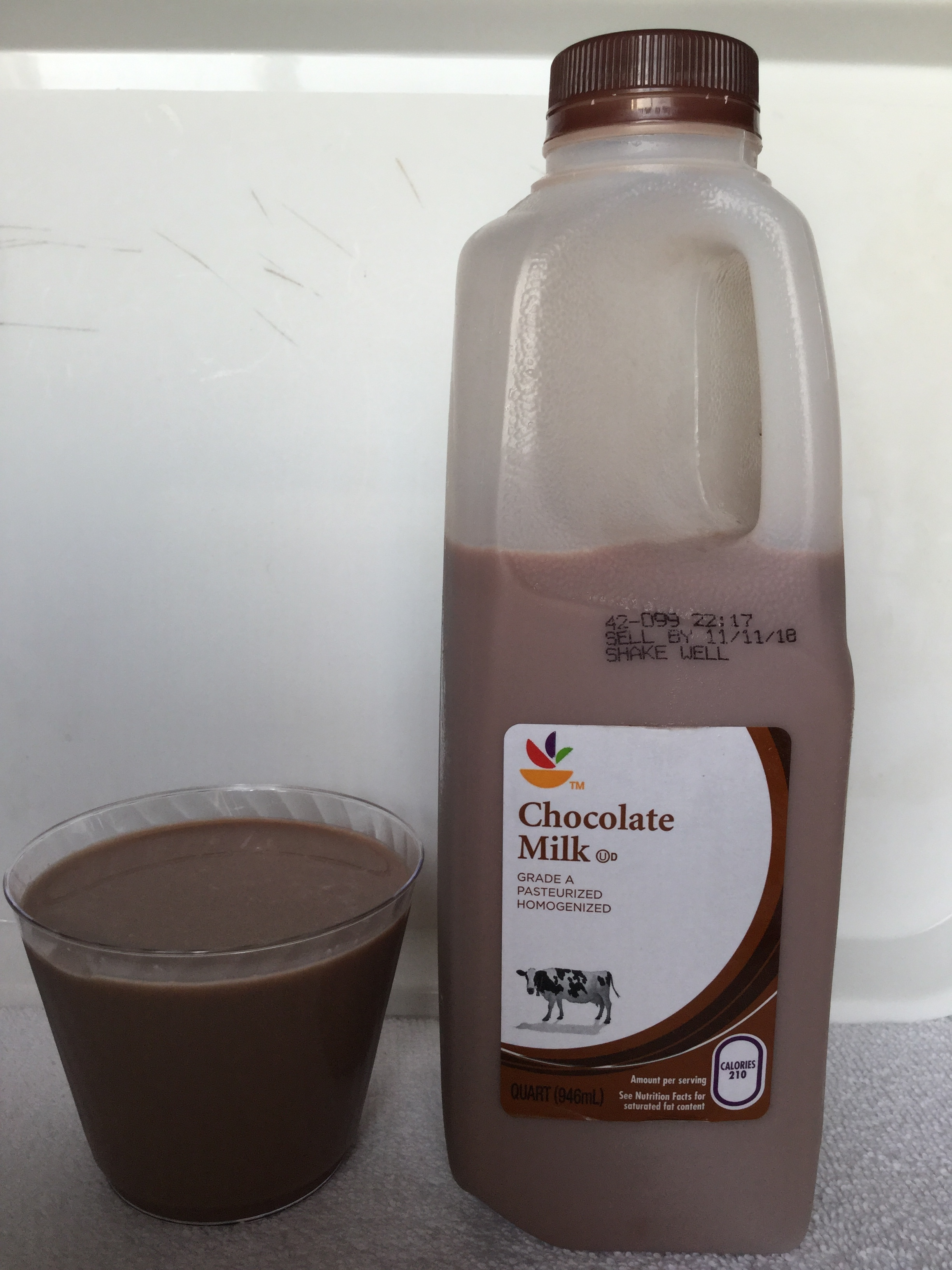 Giant Chocolate Milk Cup
