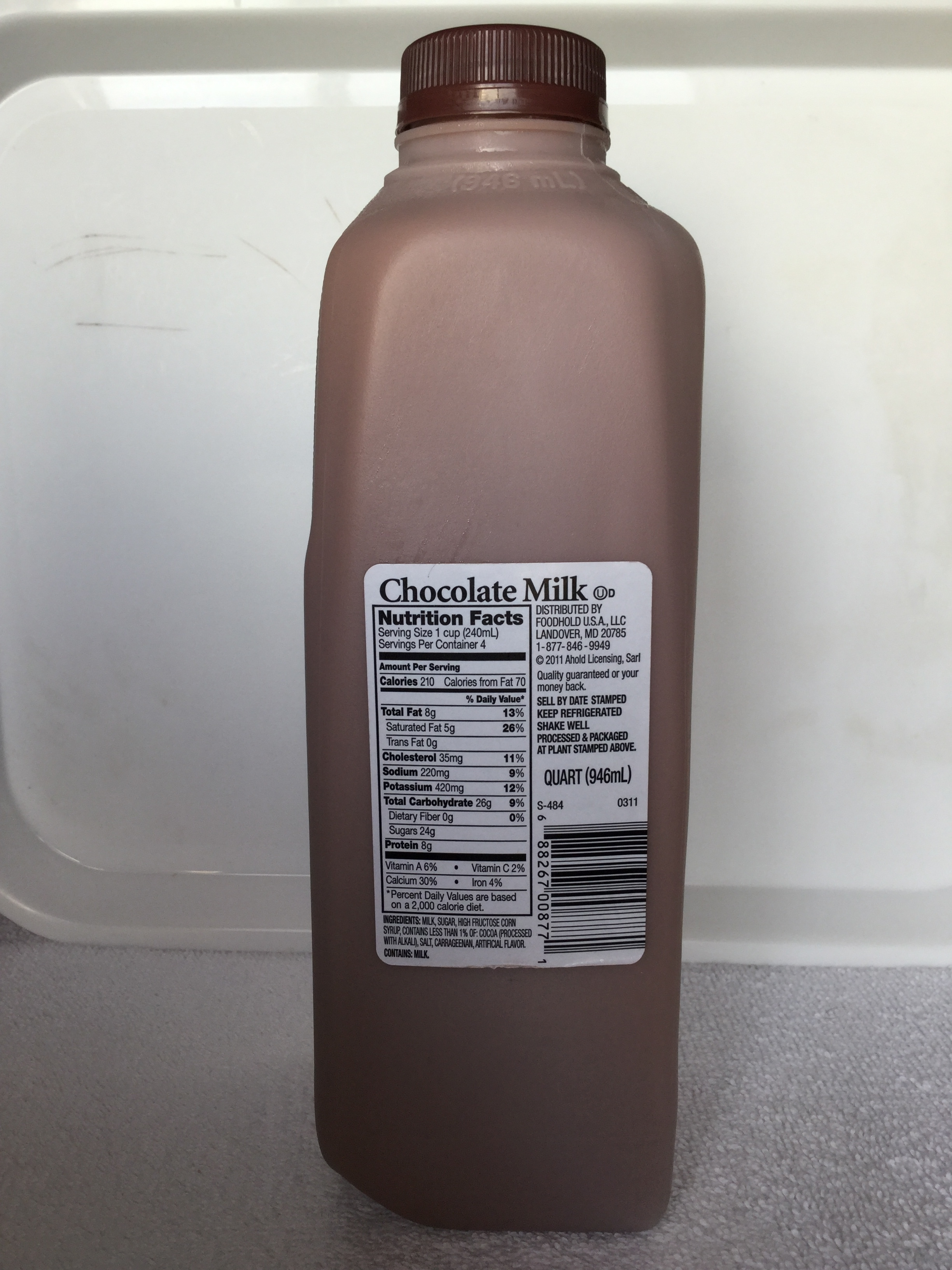 Giant Chocolate Milk Side 1