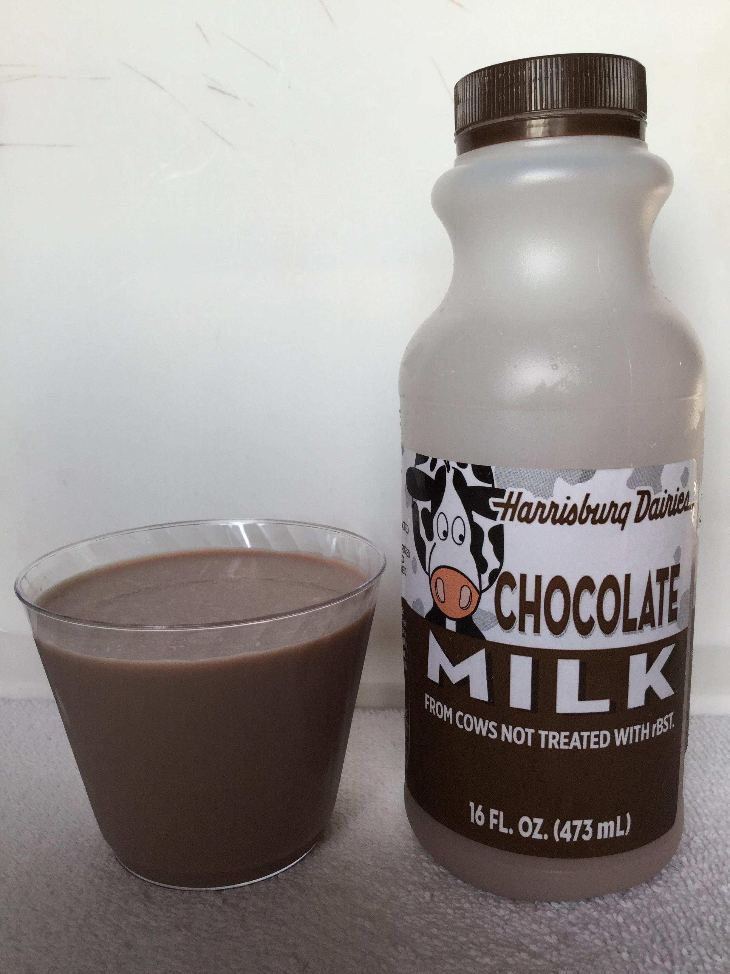 Harrisburg Dairies Chocolate Milk Cup