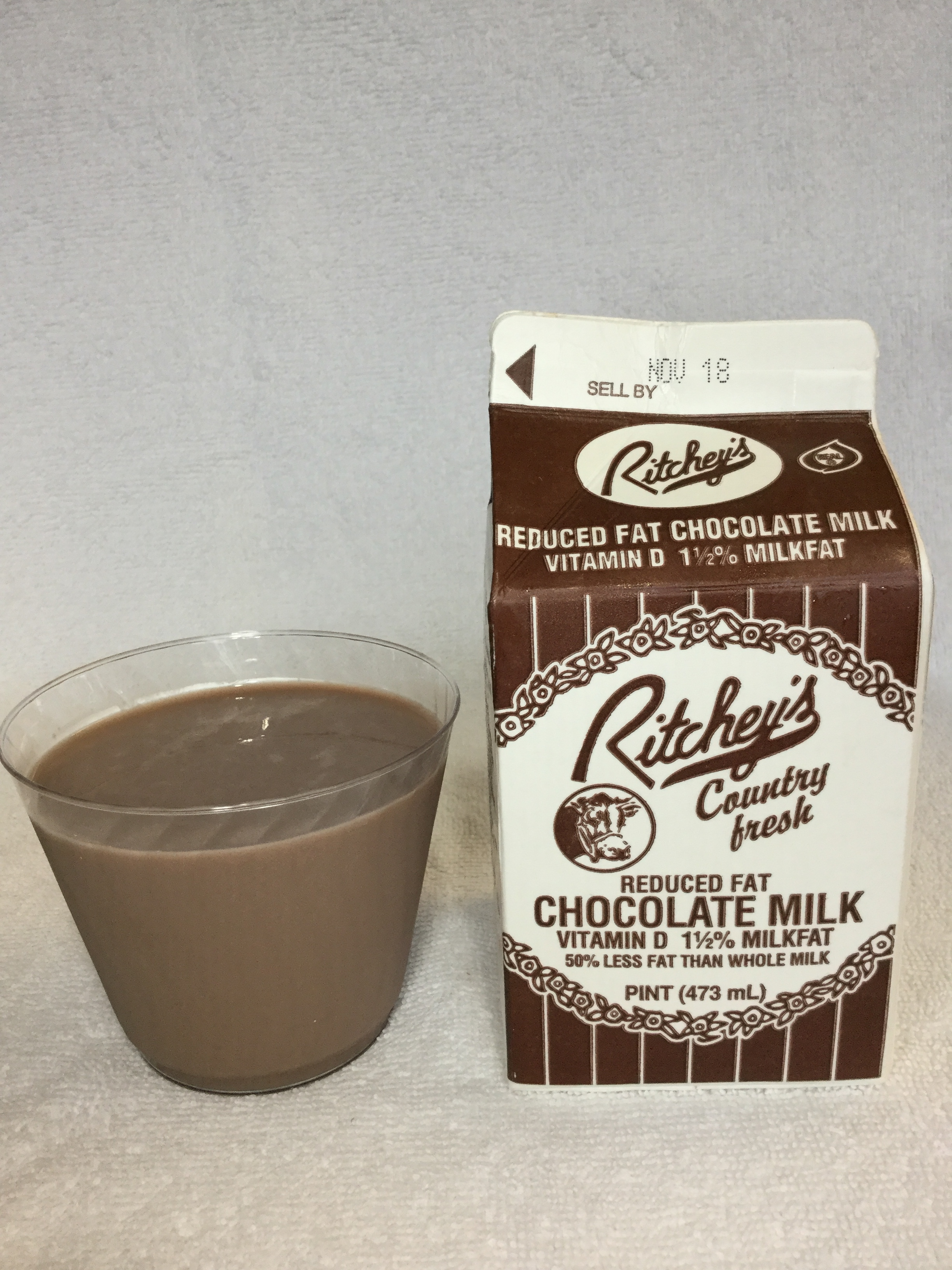 Ritchey's Country Fresh Chocolate Milk Cup