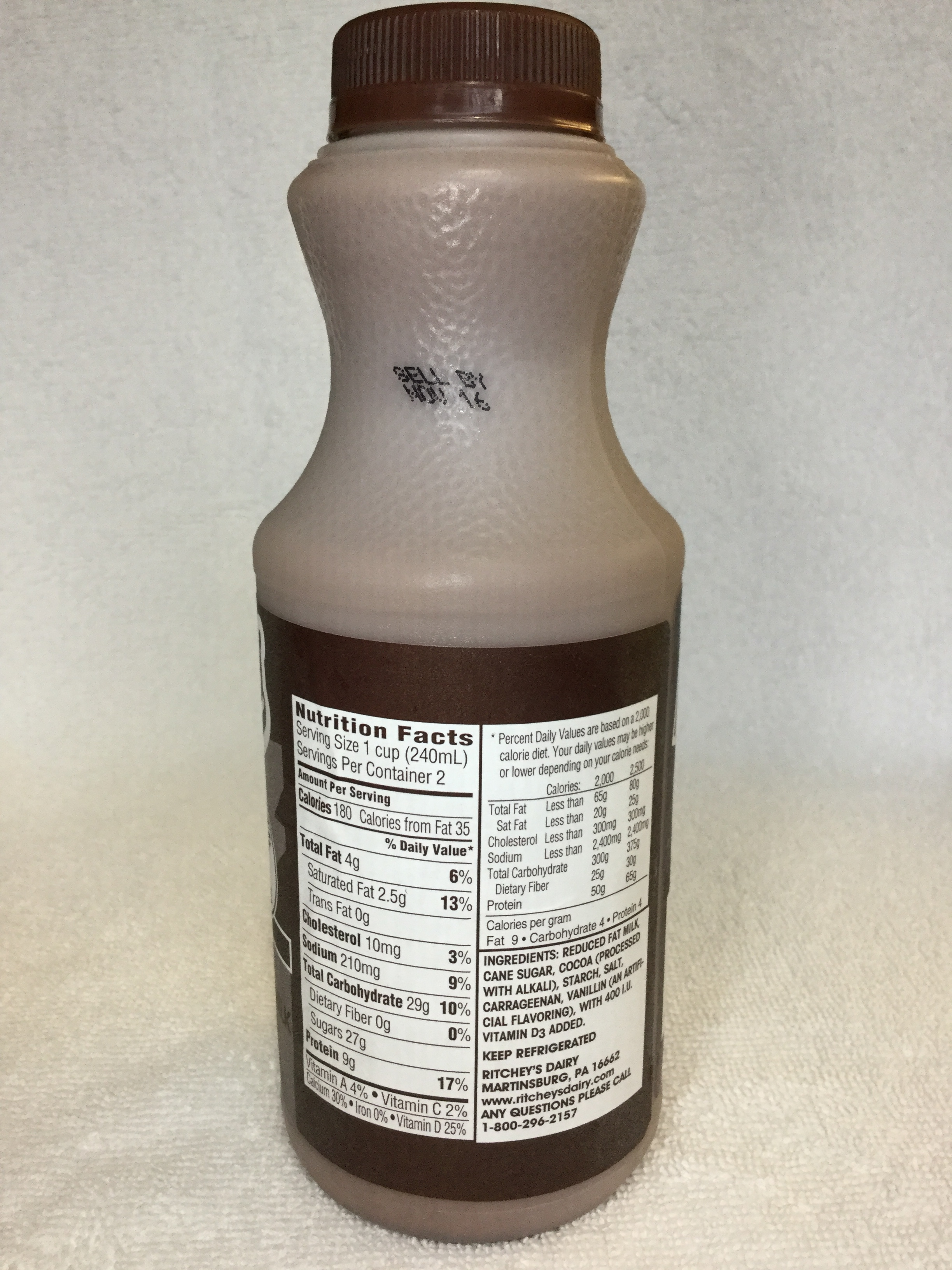 Ritchey's Chocolate Milk Side 1