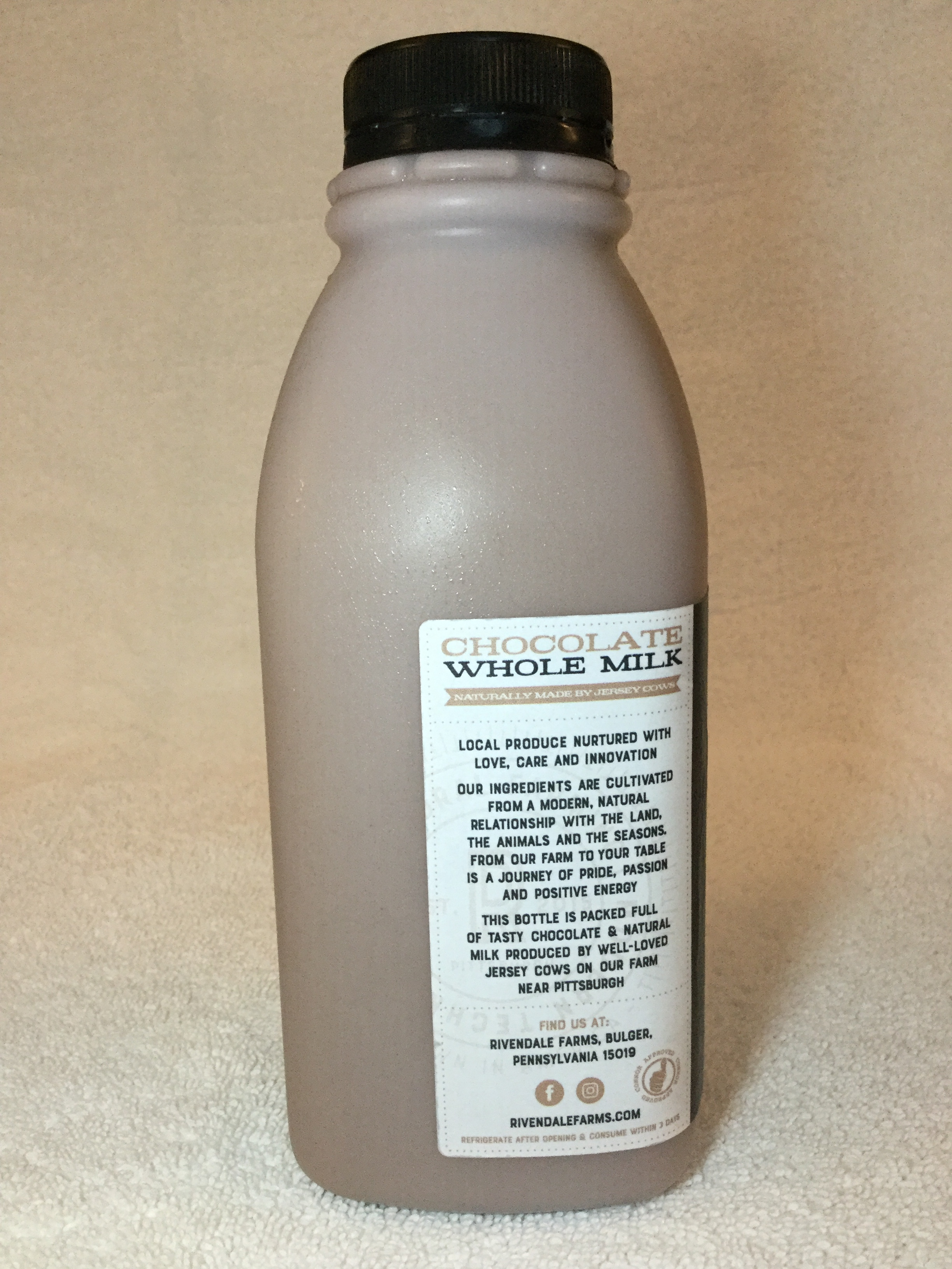 Rivendale Chocolate Milk Side 2