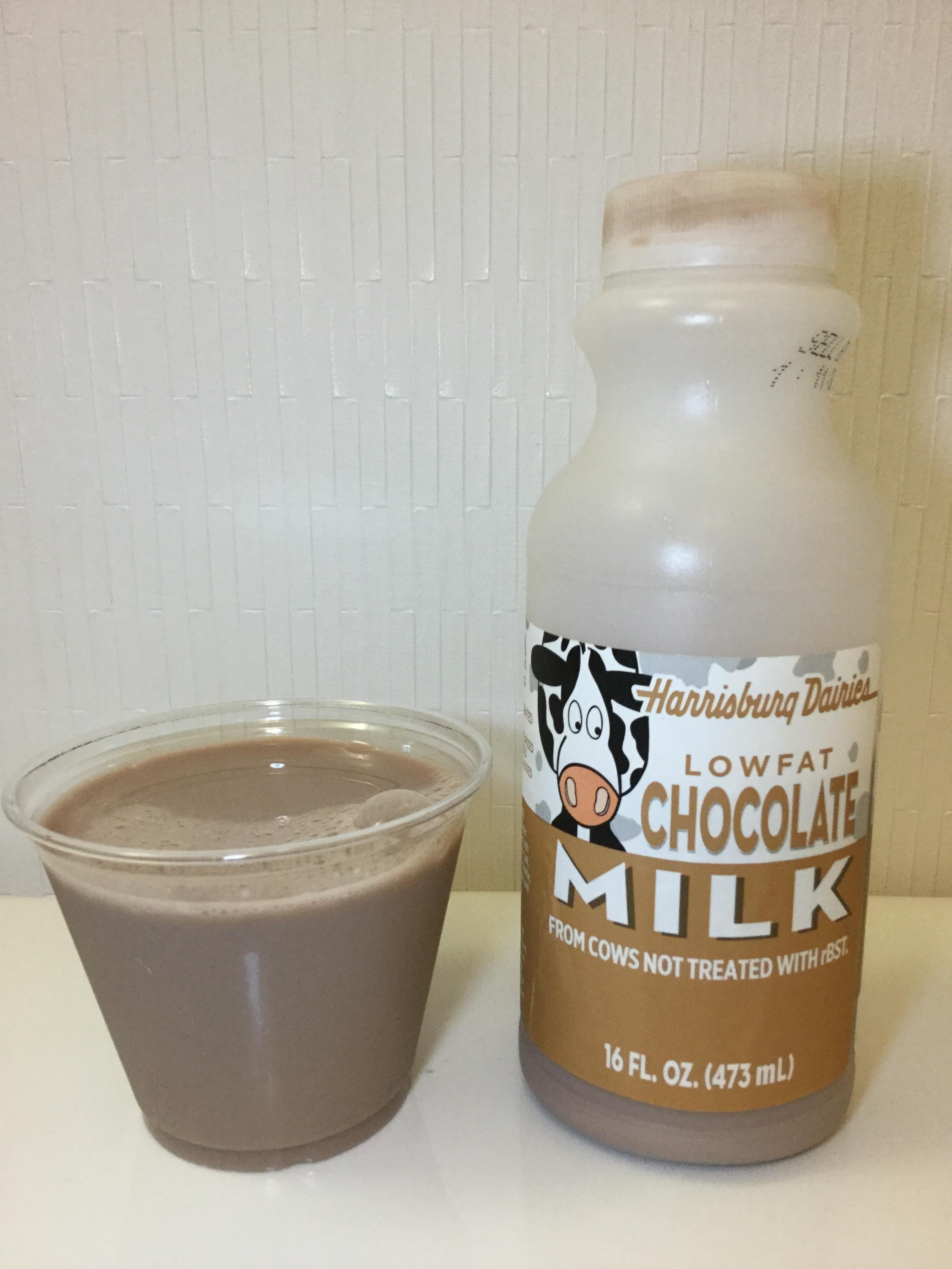 Harrisburg Dairies Lowfat Chocolate Milk Cup